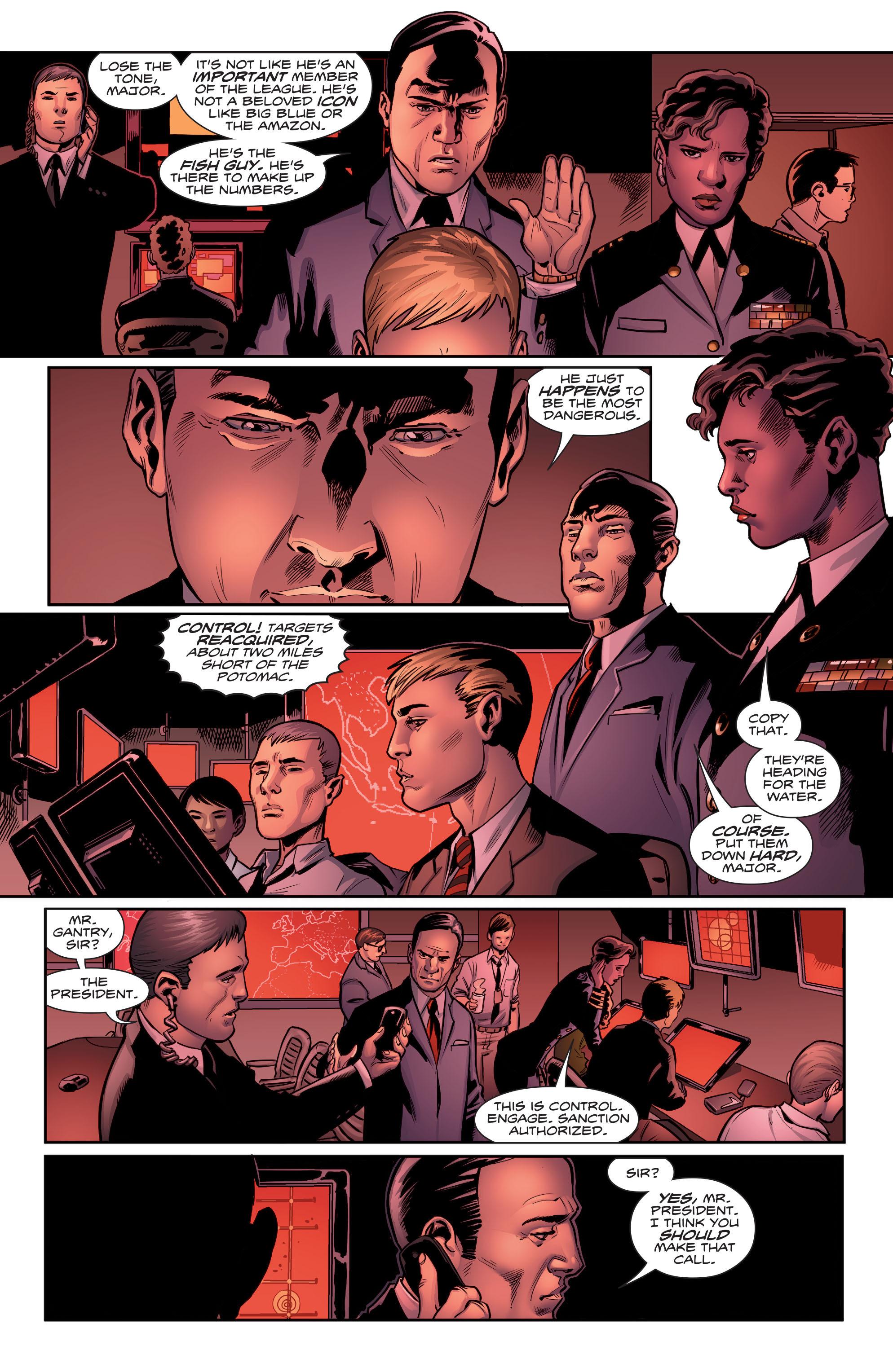 Read online Aquaman (2016) comic -  Issue #5 - 11