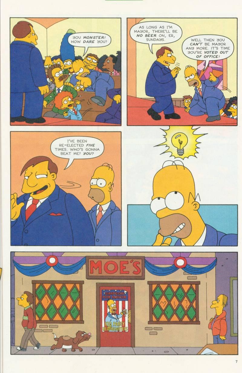 Read online Simpsons Comics comic -  Issue #58 - 8
