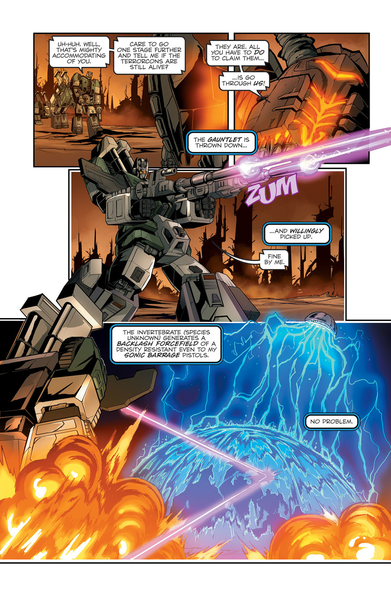Read online Transformers Spotlight: Sixshot comic -  Issue # Full - 15
