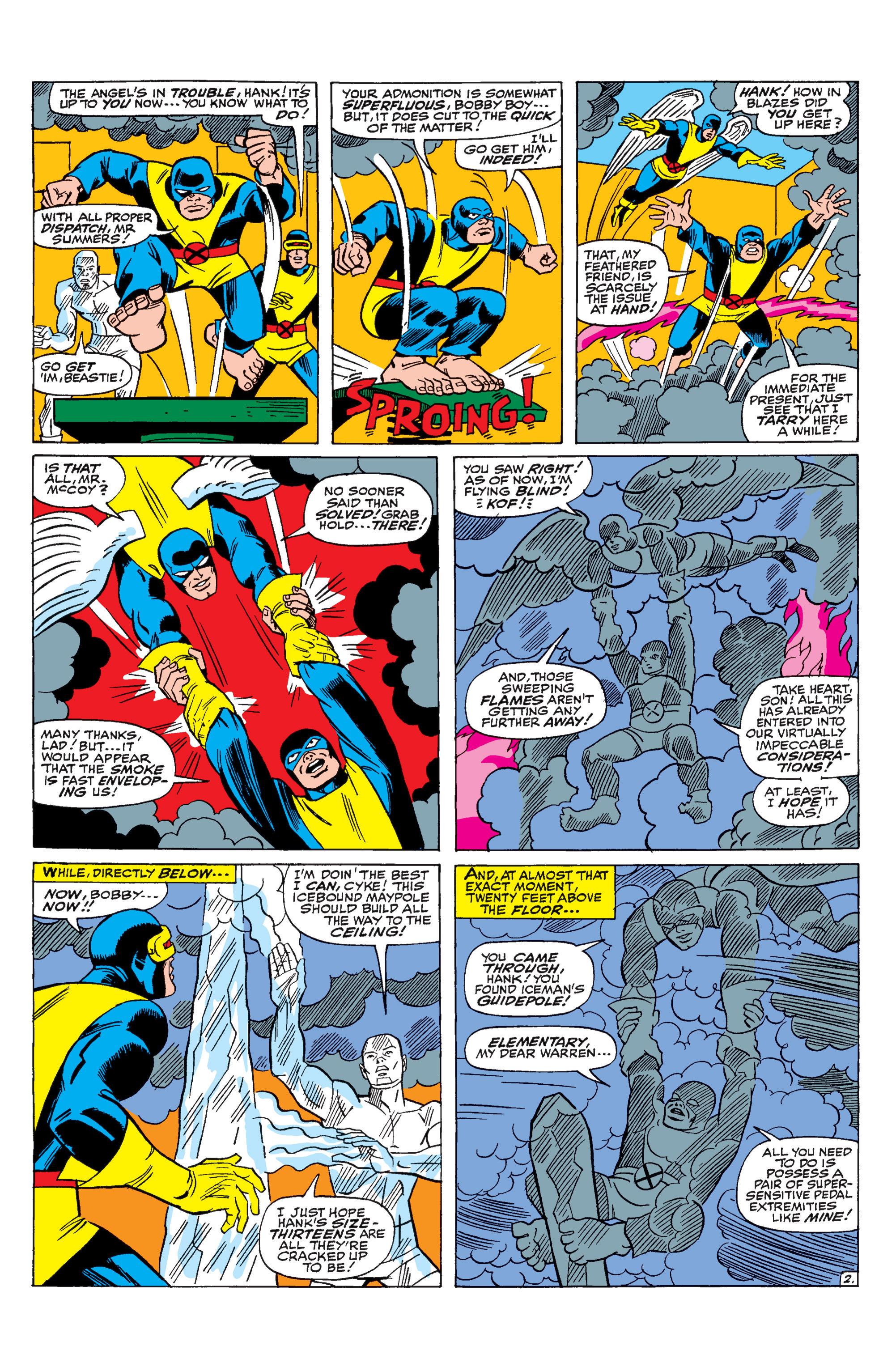 Read online Uncanny X-Men (1963) comic -  Issue #31 - 3