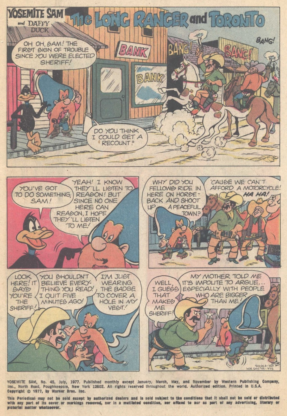 Yosemite Sam and Bugs Bunny issue 45 - Page 3