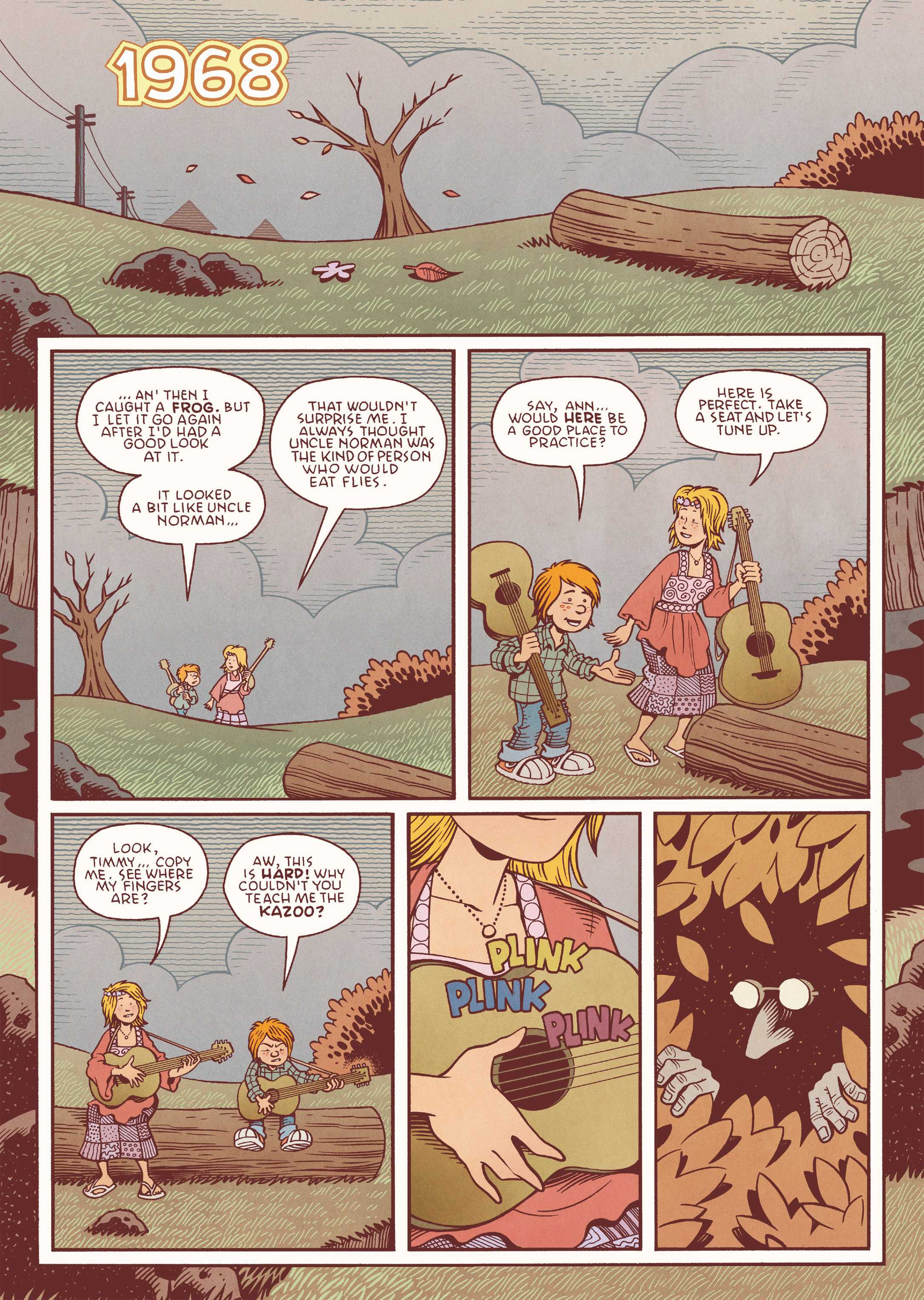 Read online Jim Henson's The Musical Monsters of Turkey Hollow comic -  Issue # Full - 16