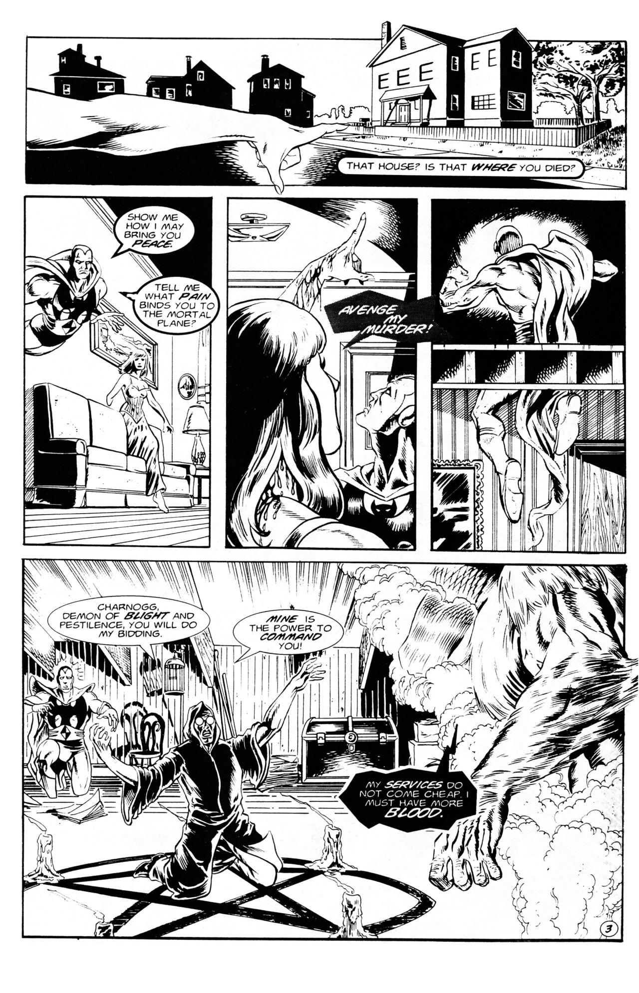 Read online Dr. Weird (1994) comic -  Issue #1 - 5