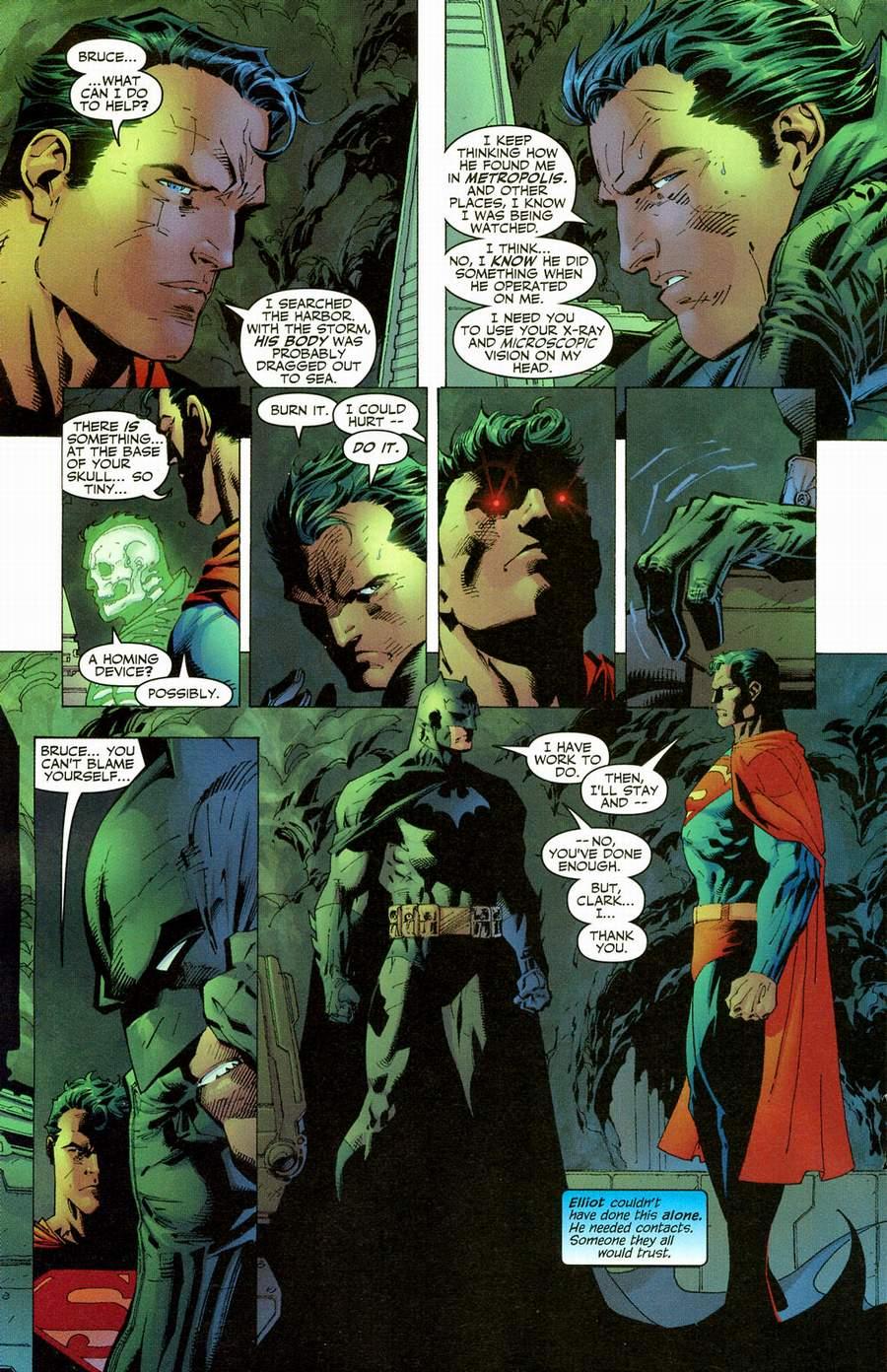Read online Batman: Hush comic -  Issue #12 - 17
