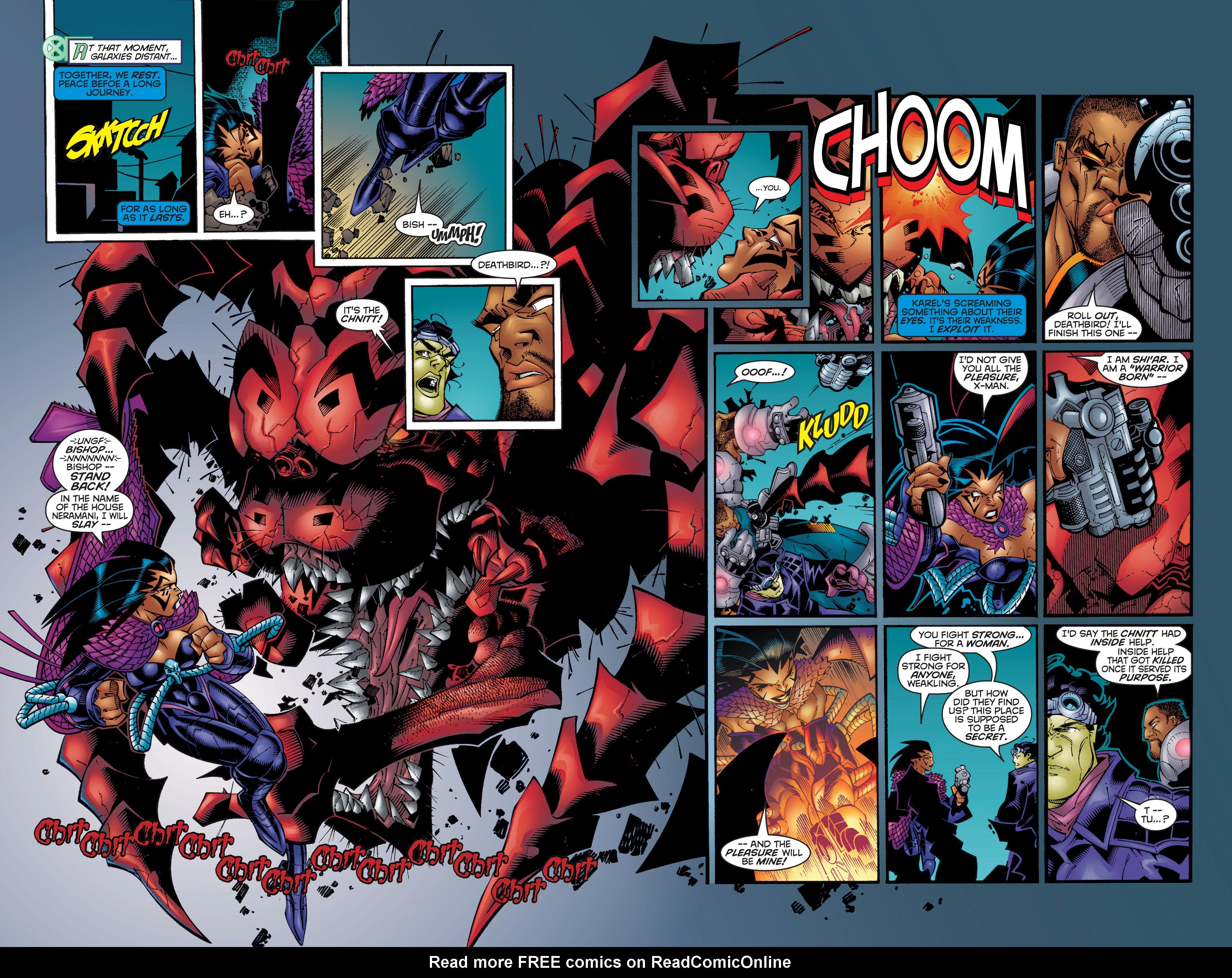 Read online Uncanny X-Men (1963) comic -  Issue #358 - 13
