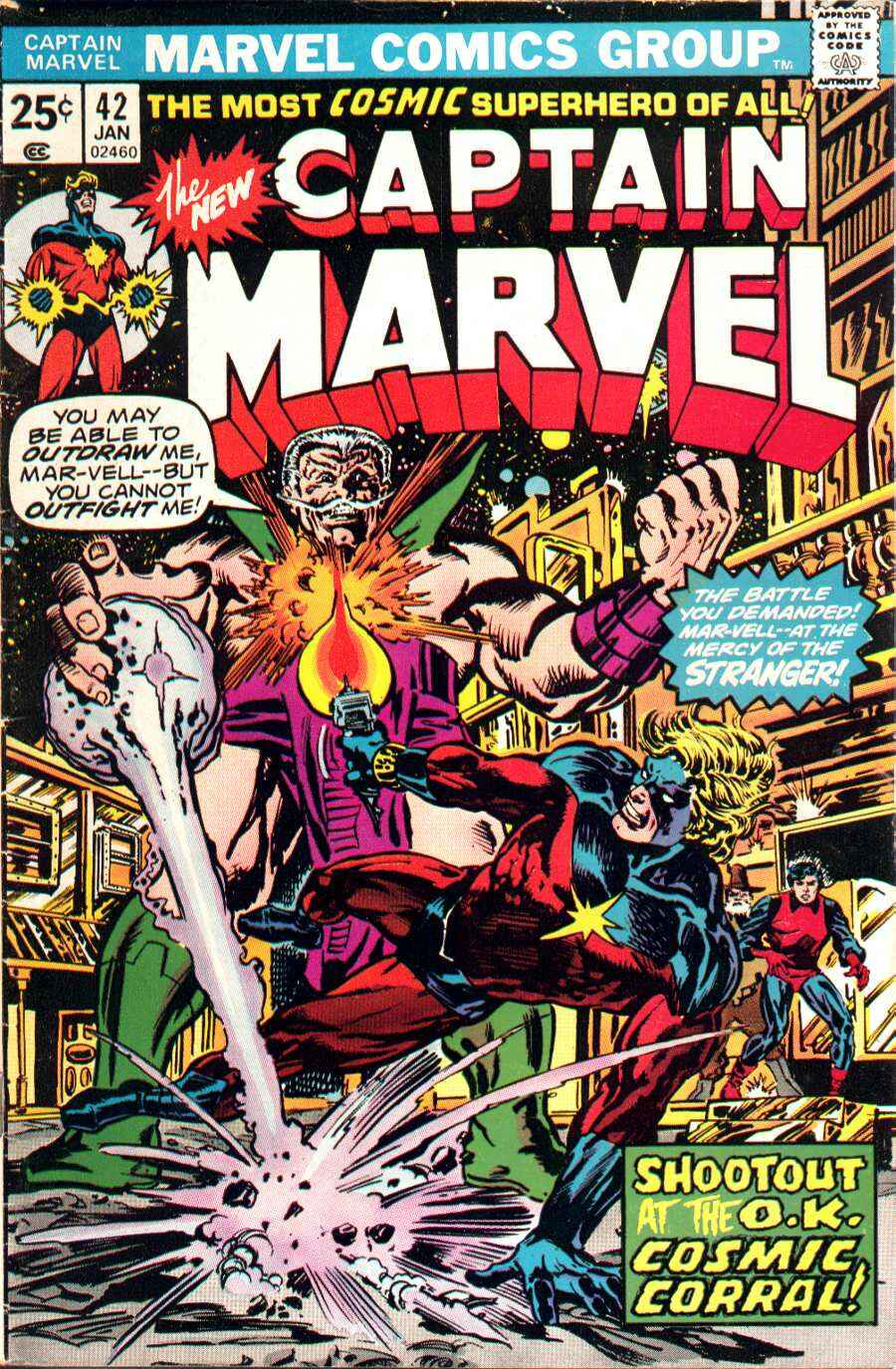Captain Marvel (1968) 42 Page 1