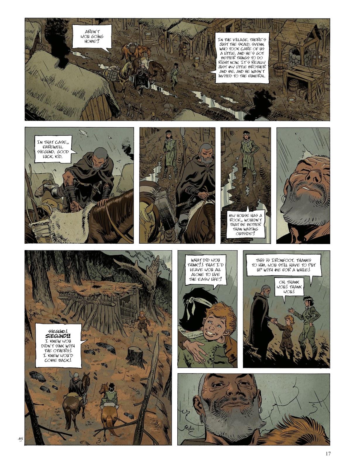 Read online Asgard comic -  Issue #1 - 19