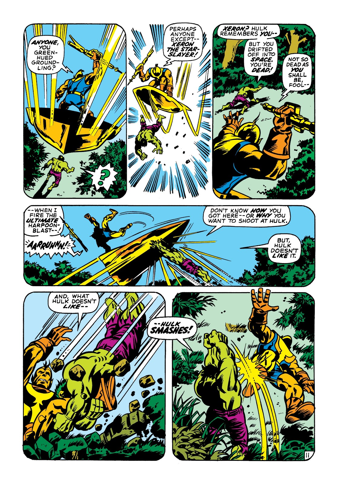 Read online Marvel Masterworks: The Incredible Hulk comic -  Issue # TPB 7 (Part 1) - 98