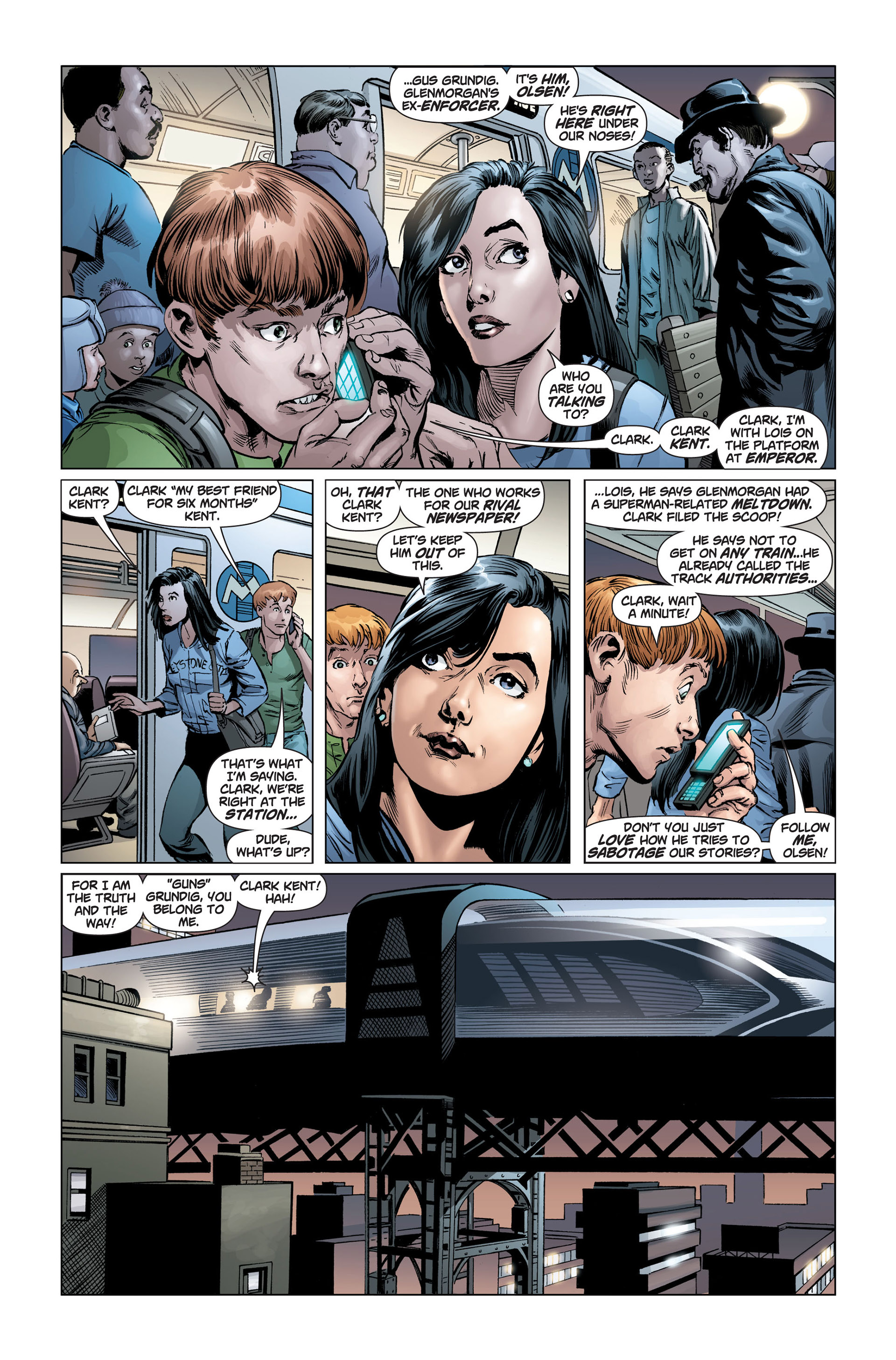 Read online Action Comics (2011) comic -  Issue #1 - 27