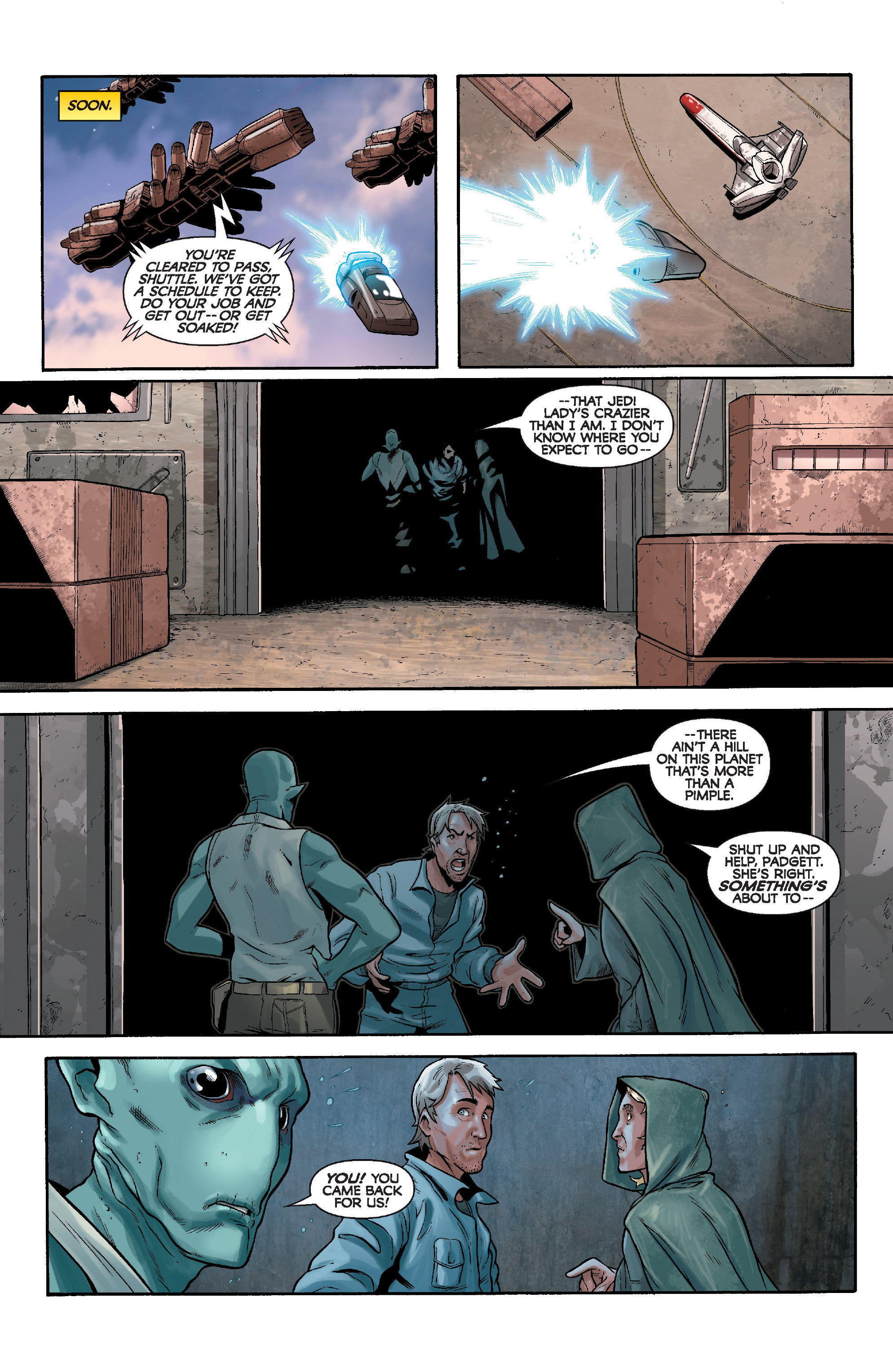 Read online Star Wars: Knight Errant - Deluge comic -  Issue #3 - 18