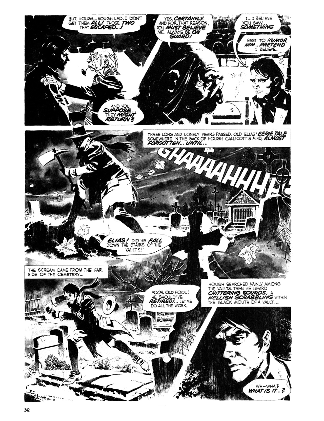 Read online Eerie Archives comic -  Issue # TPB 8 - 243