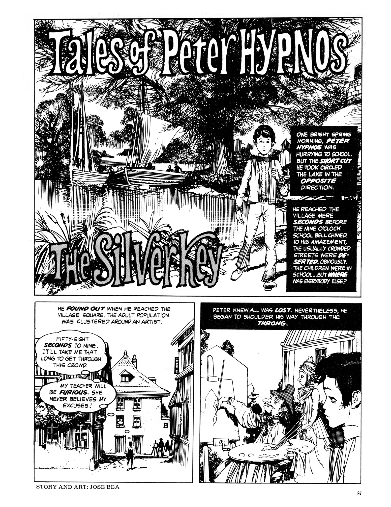 Read online Eerie Archives comic -  Issue # TPB 16 - 98