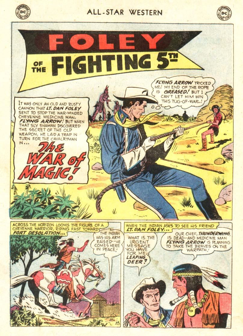Read online All-Star Western (1951) comic -  Issue #91 - 14