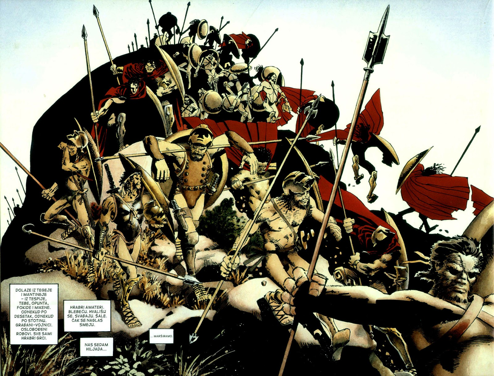 Read online 300 (2007) comic -  Issue # TPB - 29