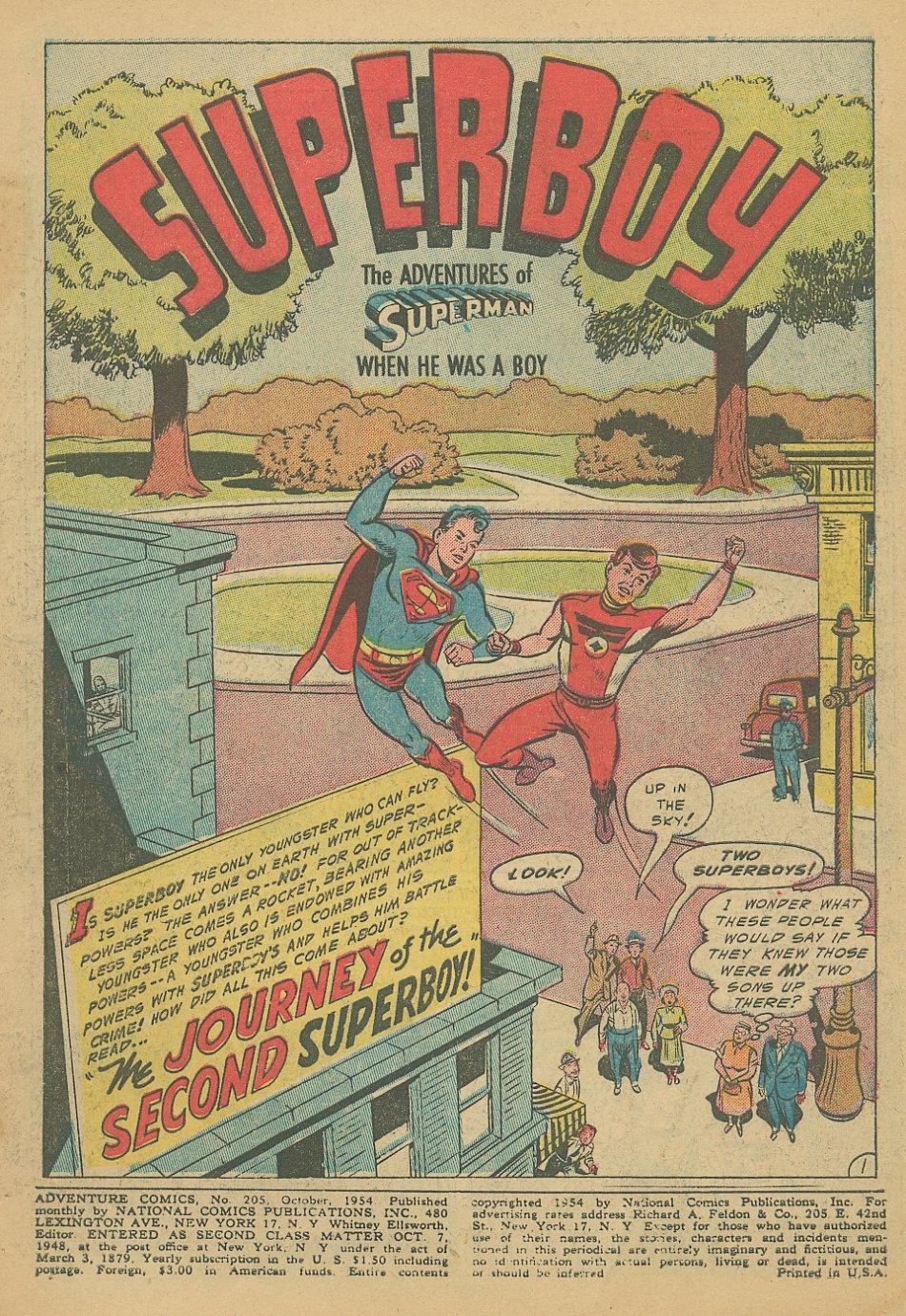 Read online Adventure Comics (1938) comic -  Issue #205 - 4