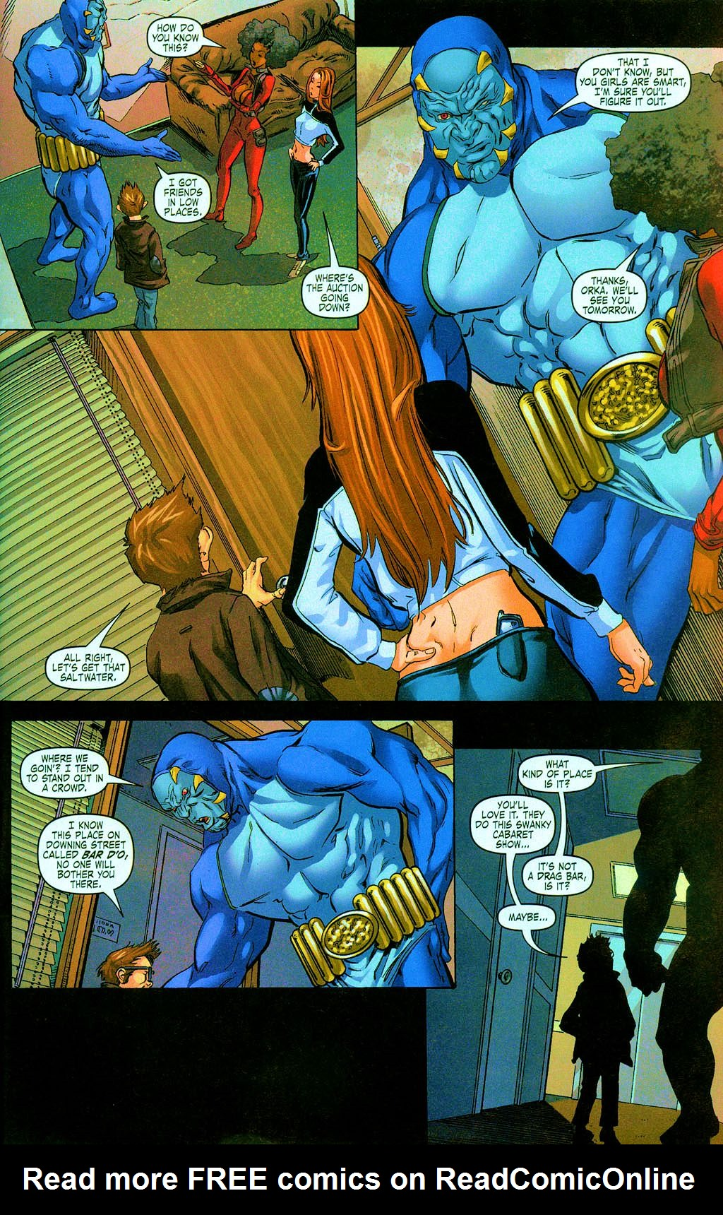 Read online Daughters of the Dragon comic -  Issue #3 - 18