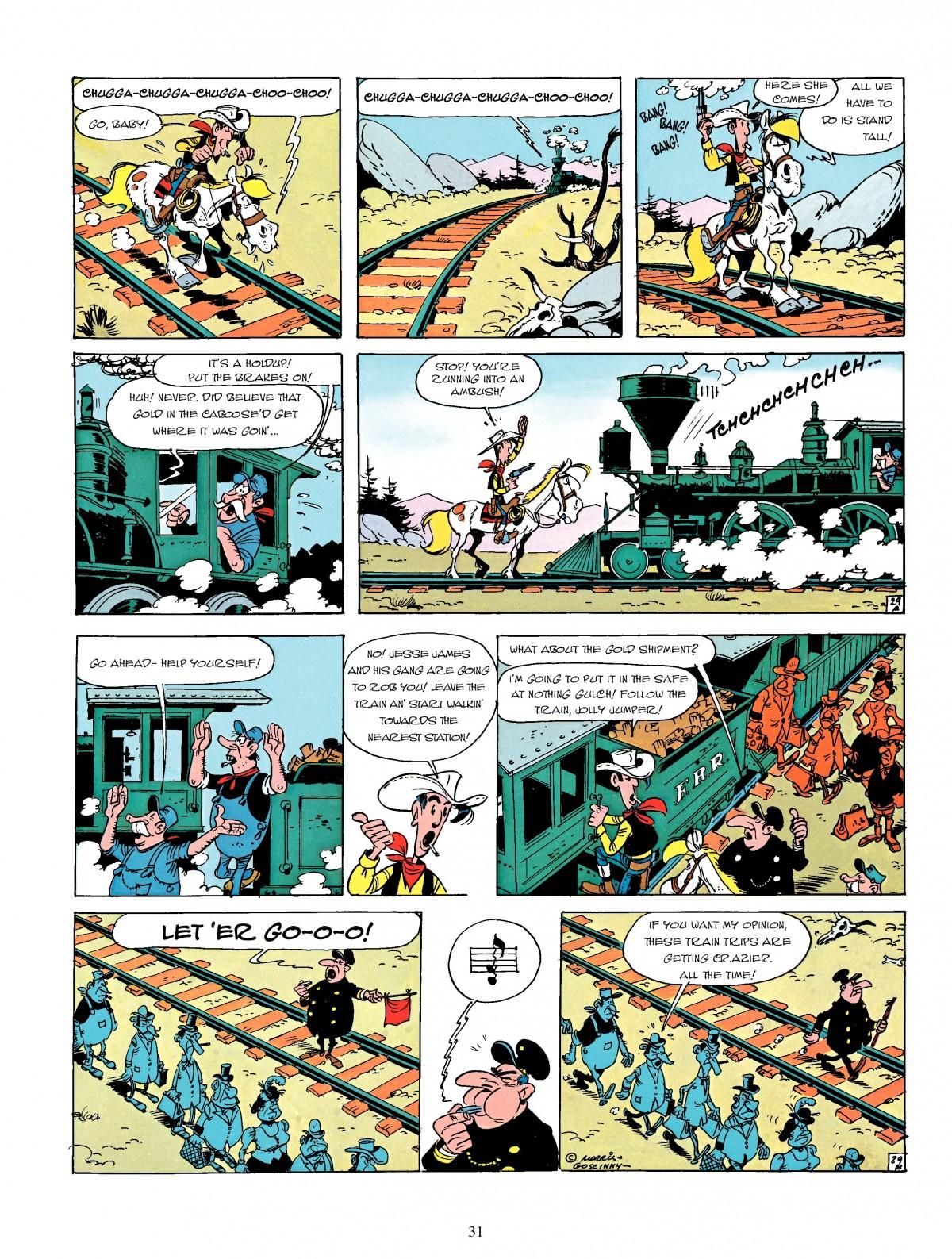 Read online A Lucky Luke Adventure comic -  Issue #4 - 33