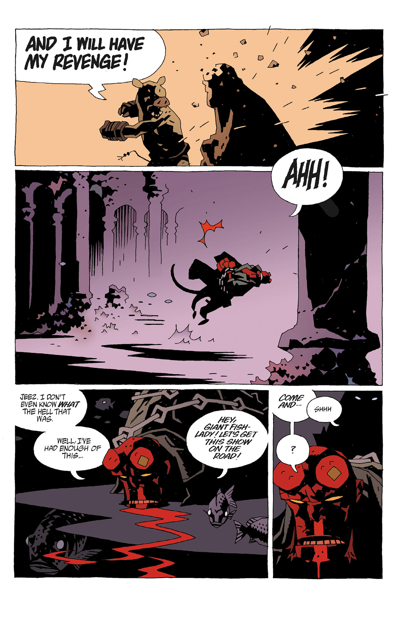 Read online Hellboy: Strange Places comic -  Issue # TPB - 49