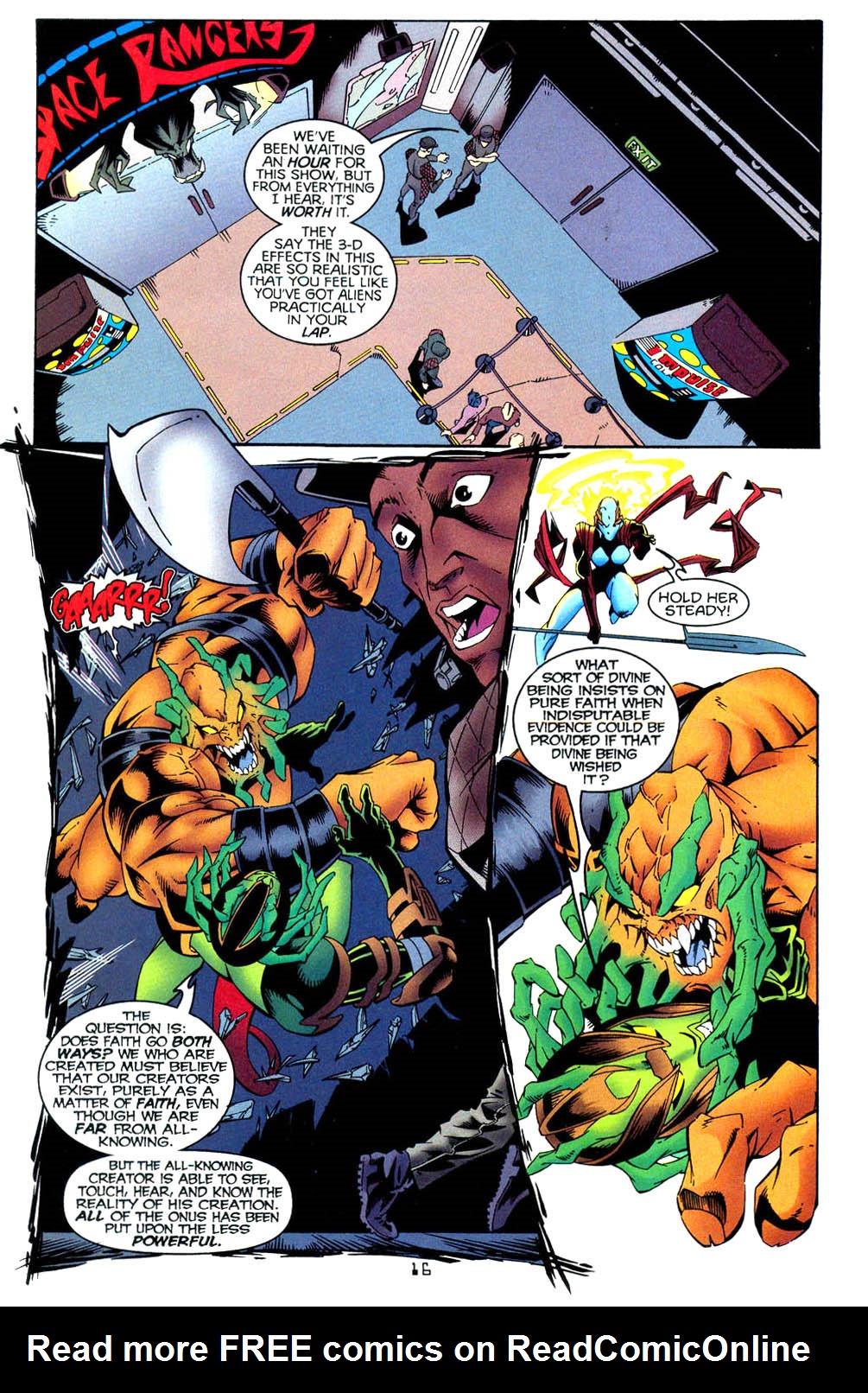 Read online Tangent Comics/ Wonder Woman comic -  Issue # Full - 16