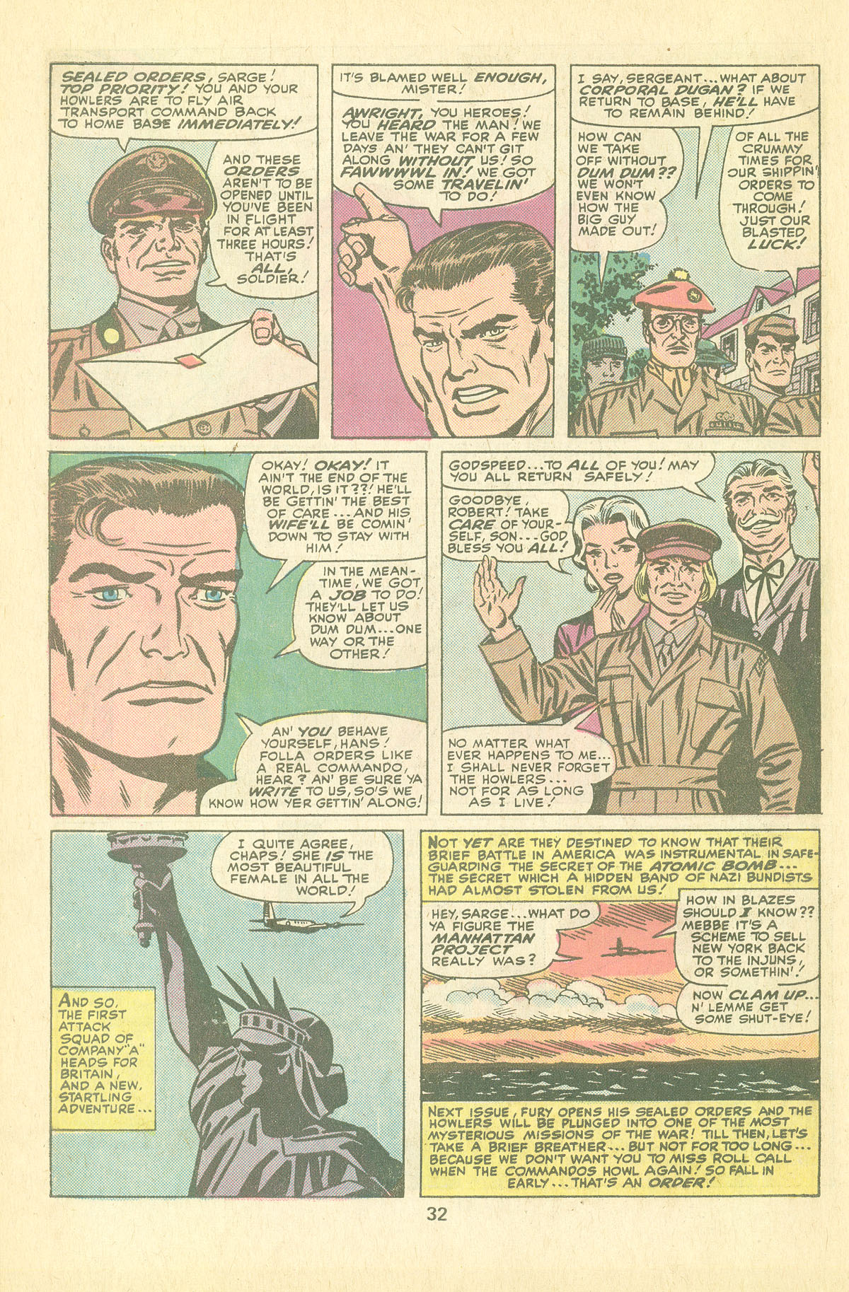 Read online Sgt. Fury comic -  Issue #126 - 34