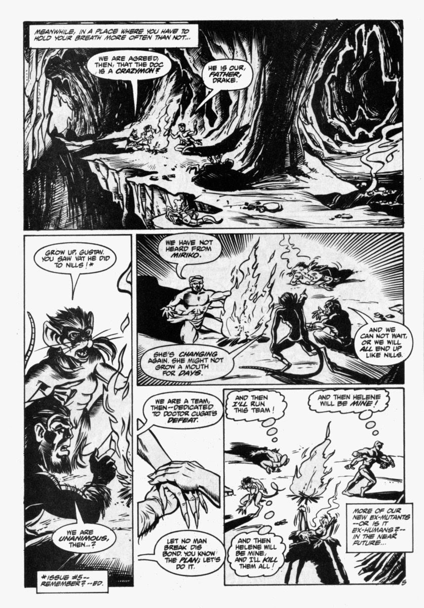Ex-Mutants: The Shattered Earth Chronicles issue 7 - Page 6