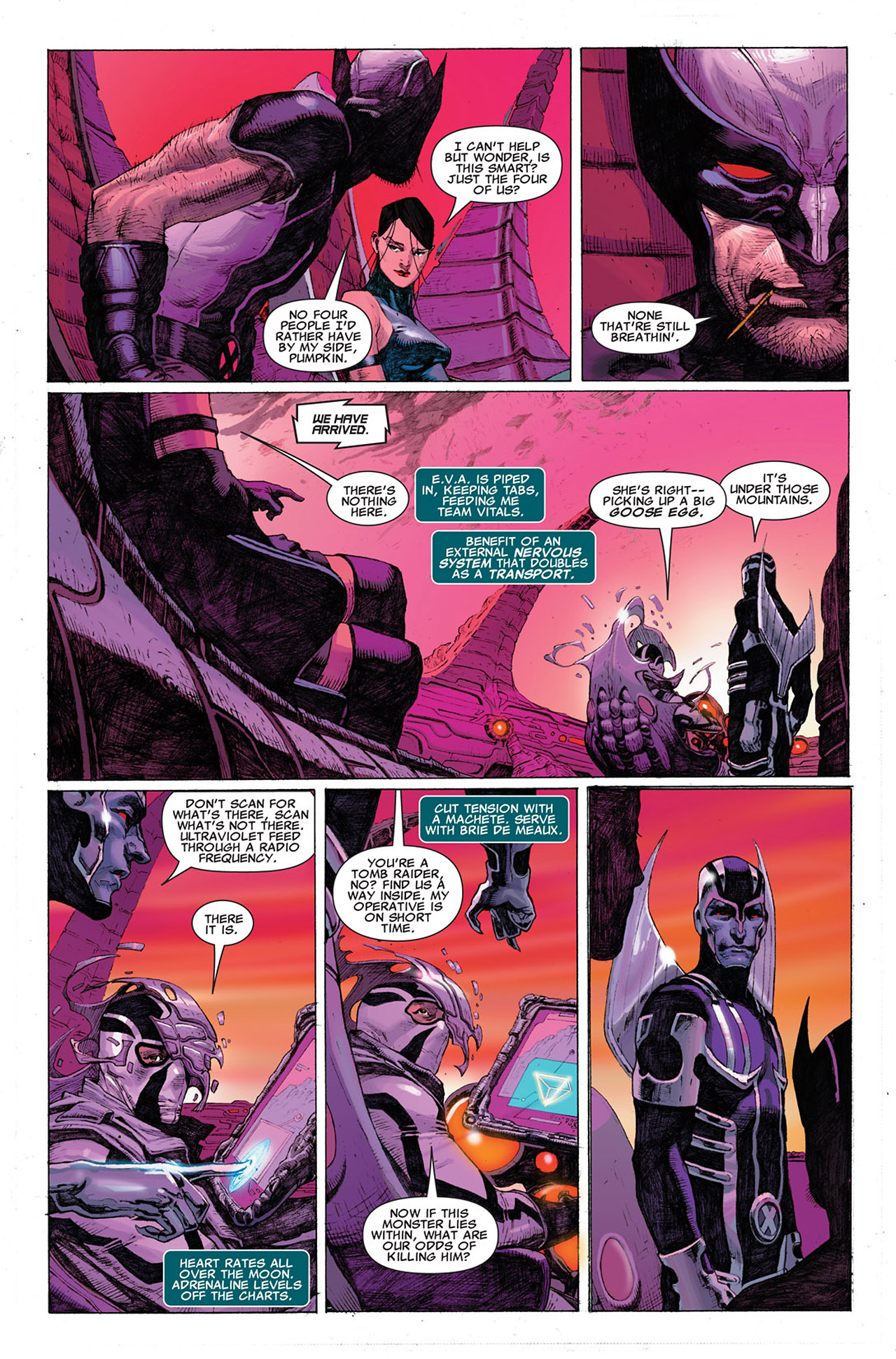 Read online Uncanny X-Force (2010) comic -  Issue #1 - 15