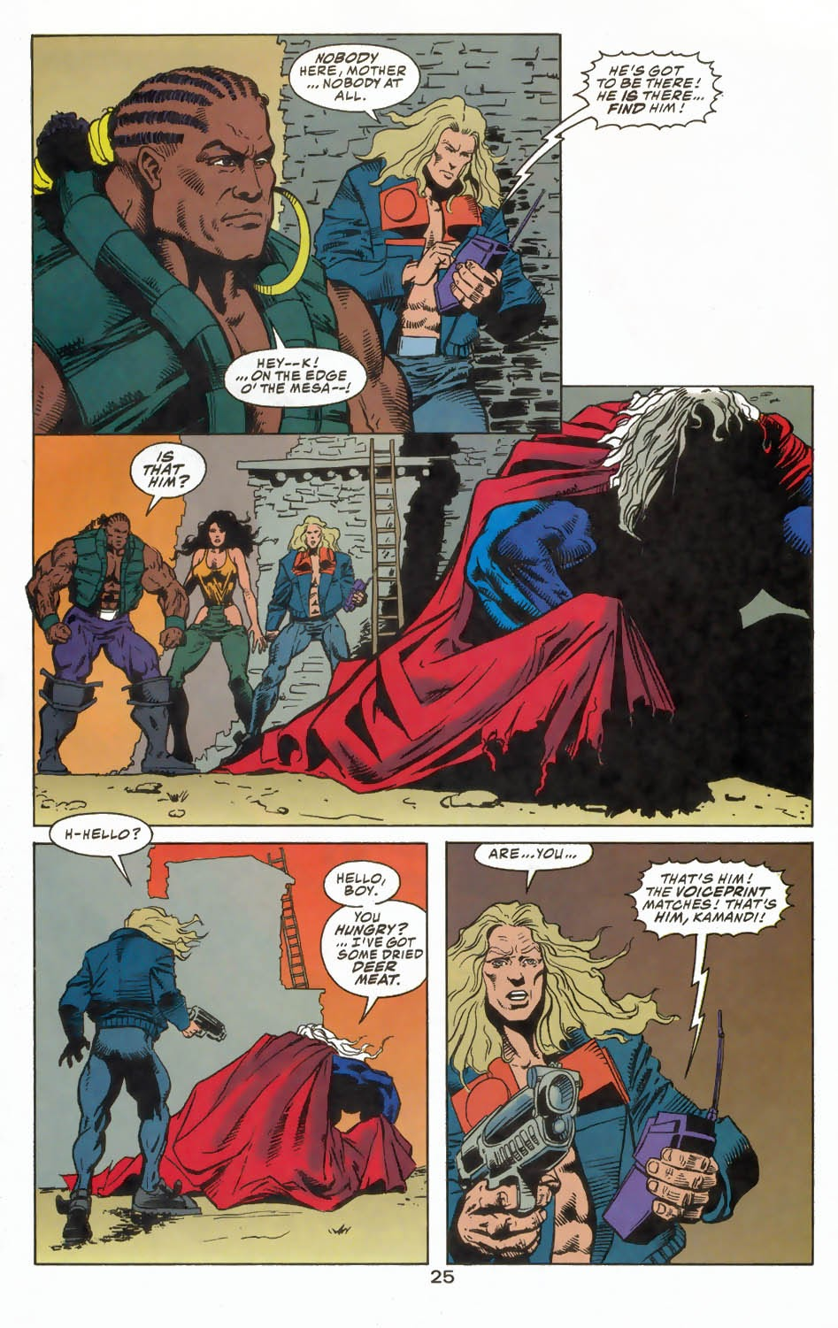 Read online Kamandi: At Earth's End comic -  Issue #4 - 29