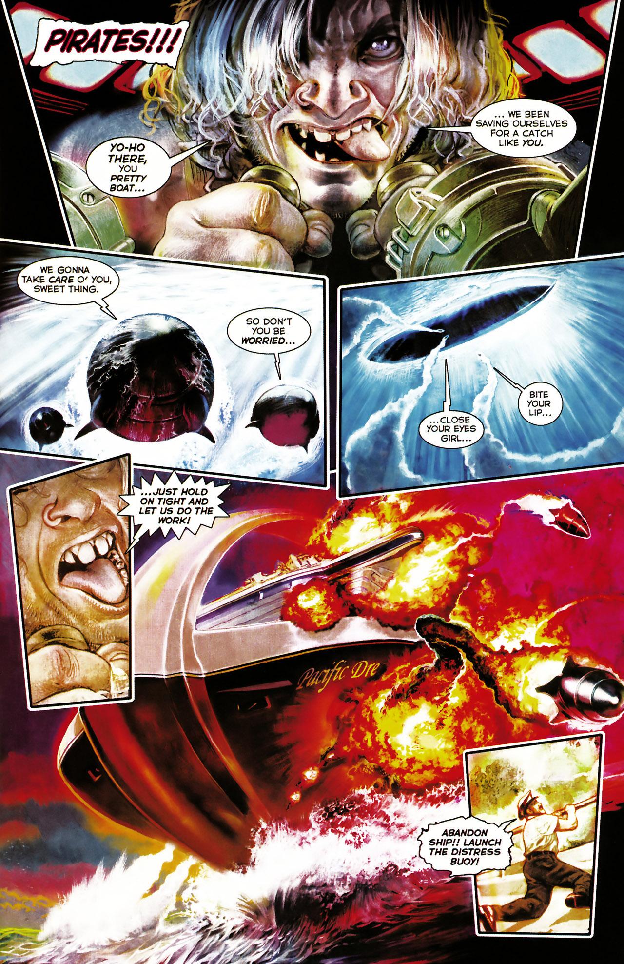Read online Shark-Man comic -  Issue #1 - 9