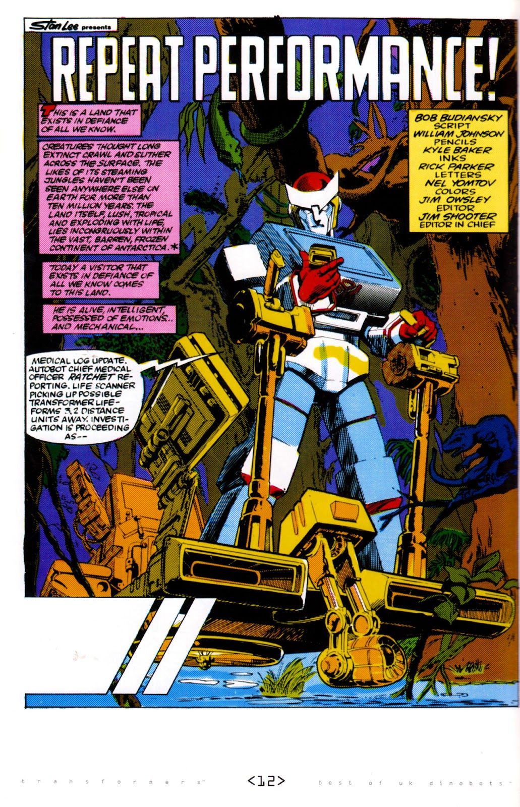 Read online The Transformers: Best of UK: Dinobots comic -  Issue #6 - 15