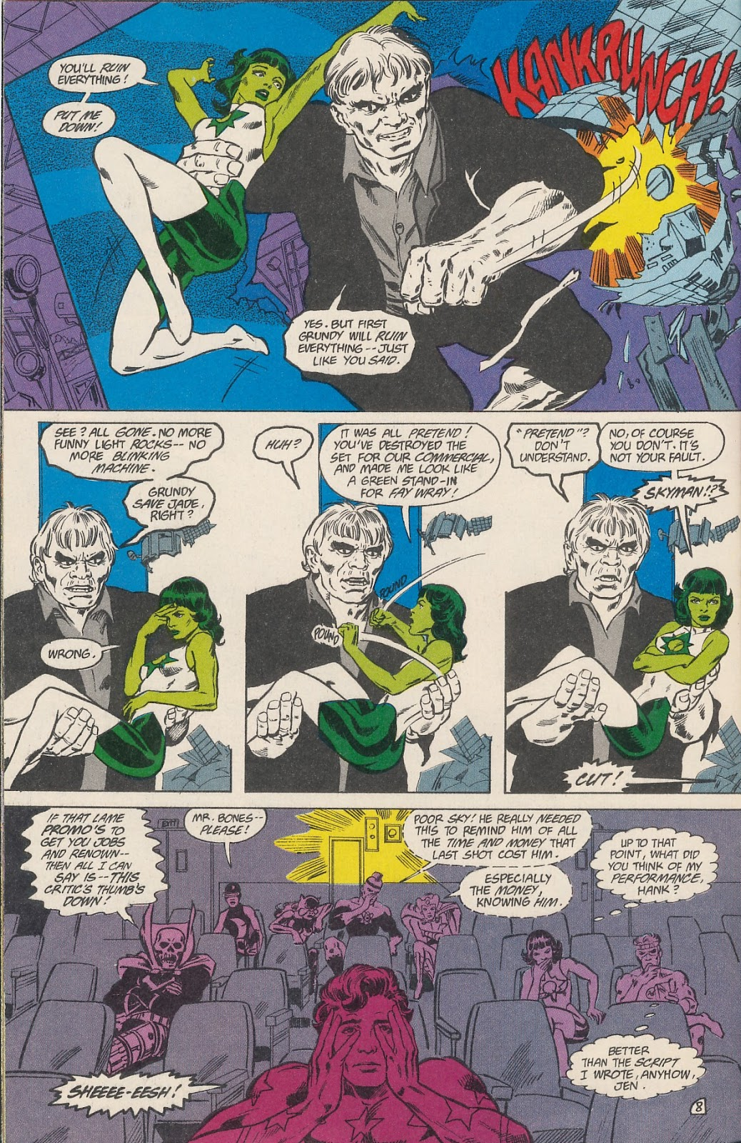 Infinity Inc. (1984) issue 40 - Page 10