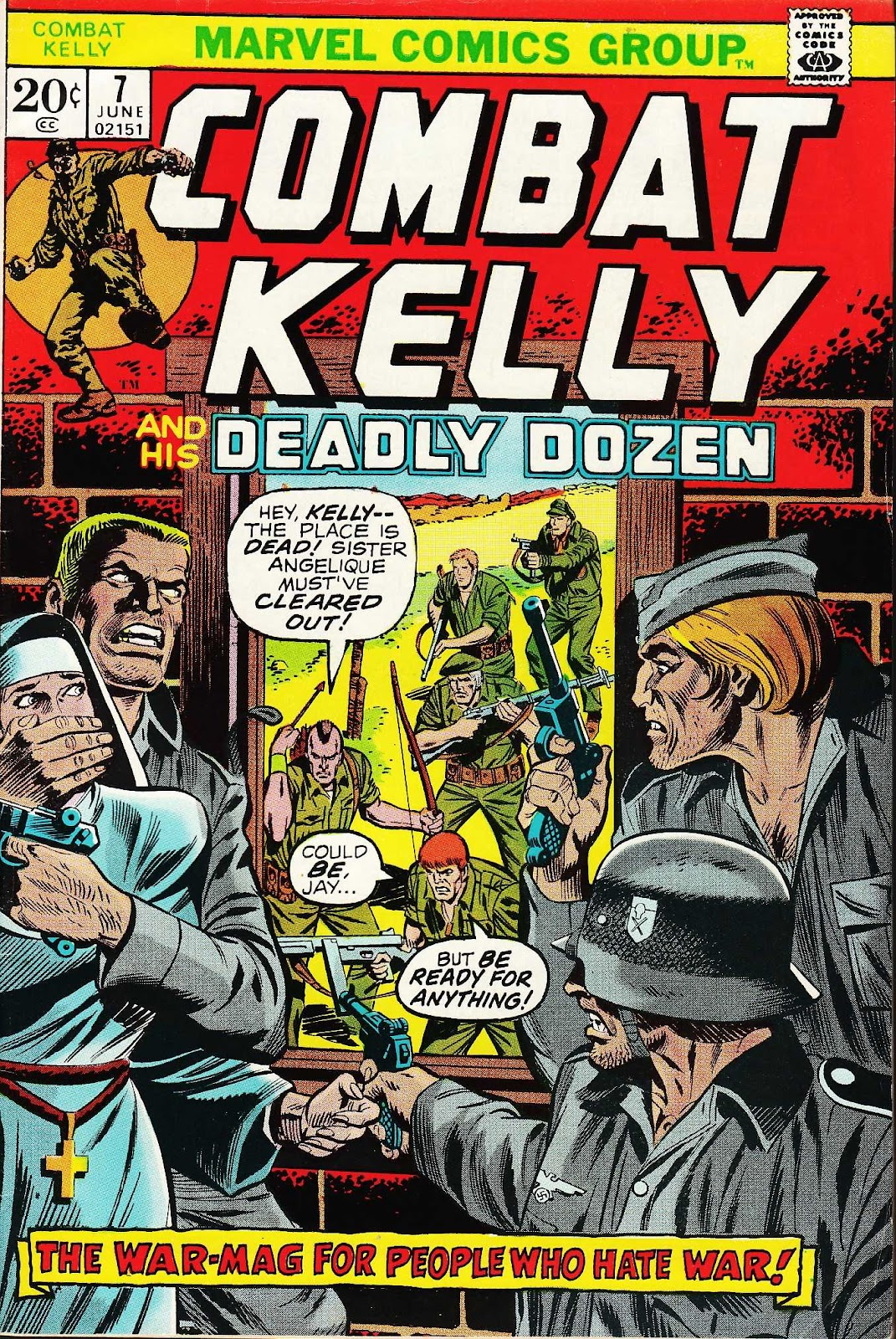 Combat Kelly (1972) issue 7 - Page 1