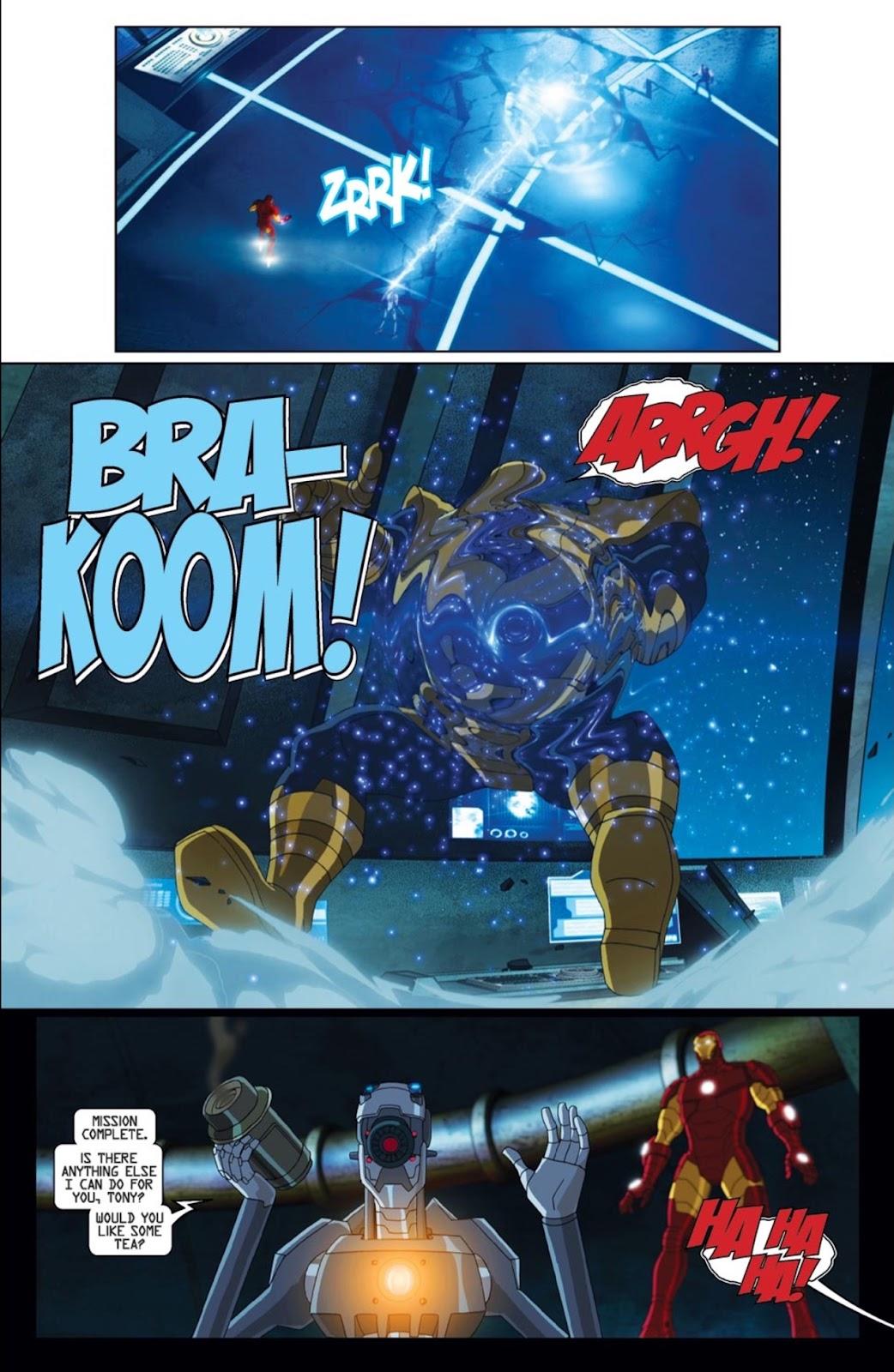 Read online Marvel Universe Avengers Assemble Season 2 comic -  Issue #2 - 18