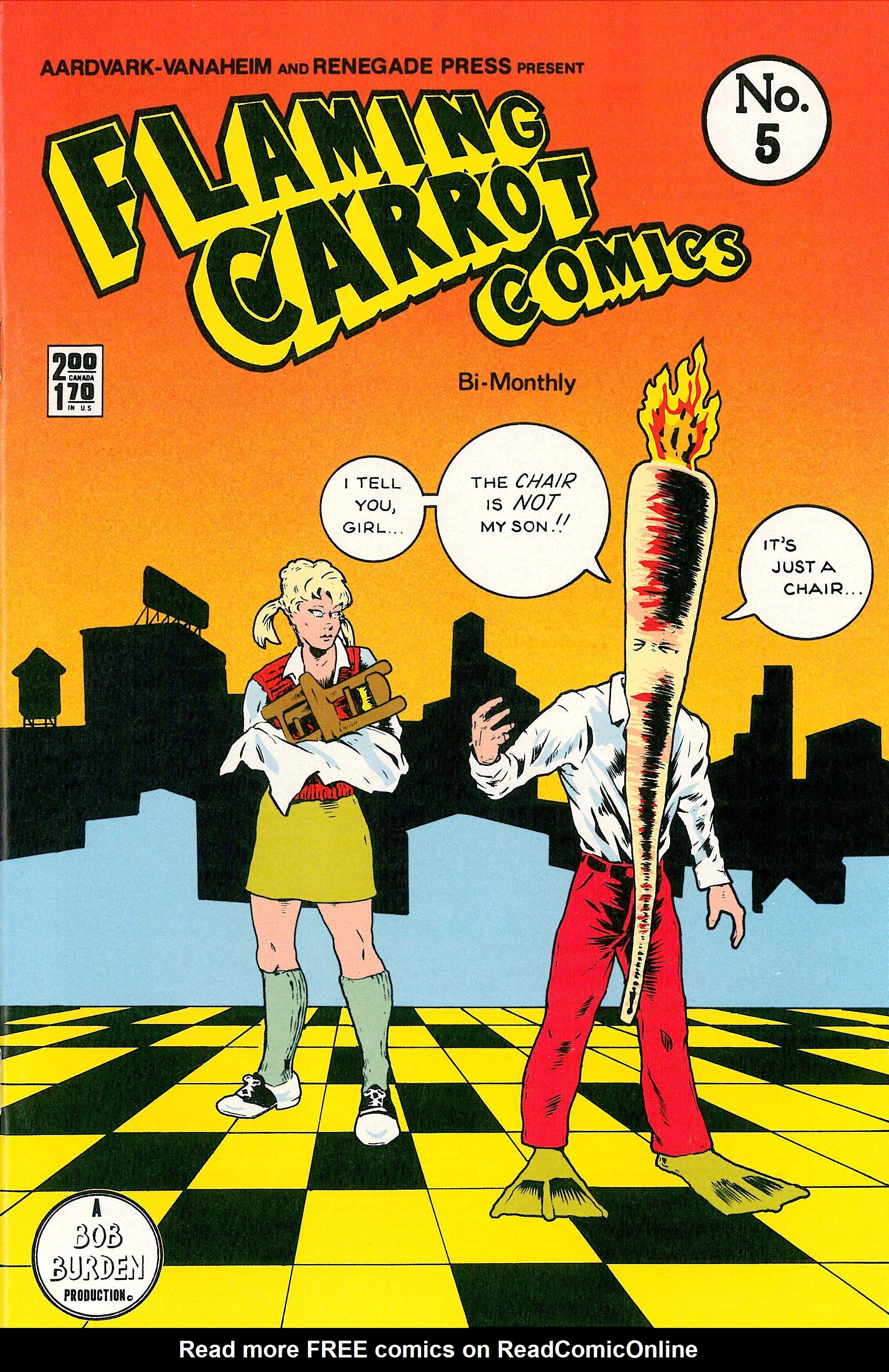 Read online Flaming Carrot Comics (1984) comic -  Issue #5 - 1