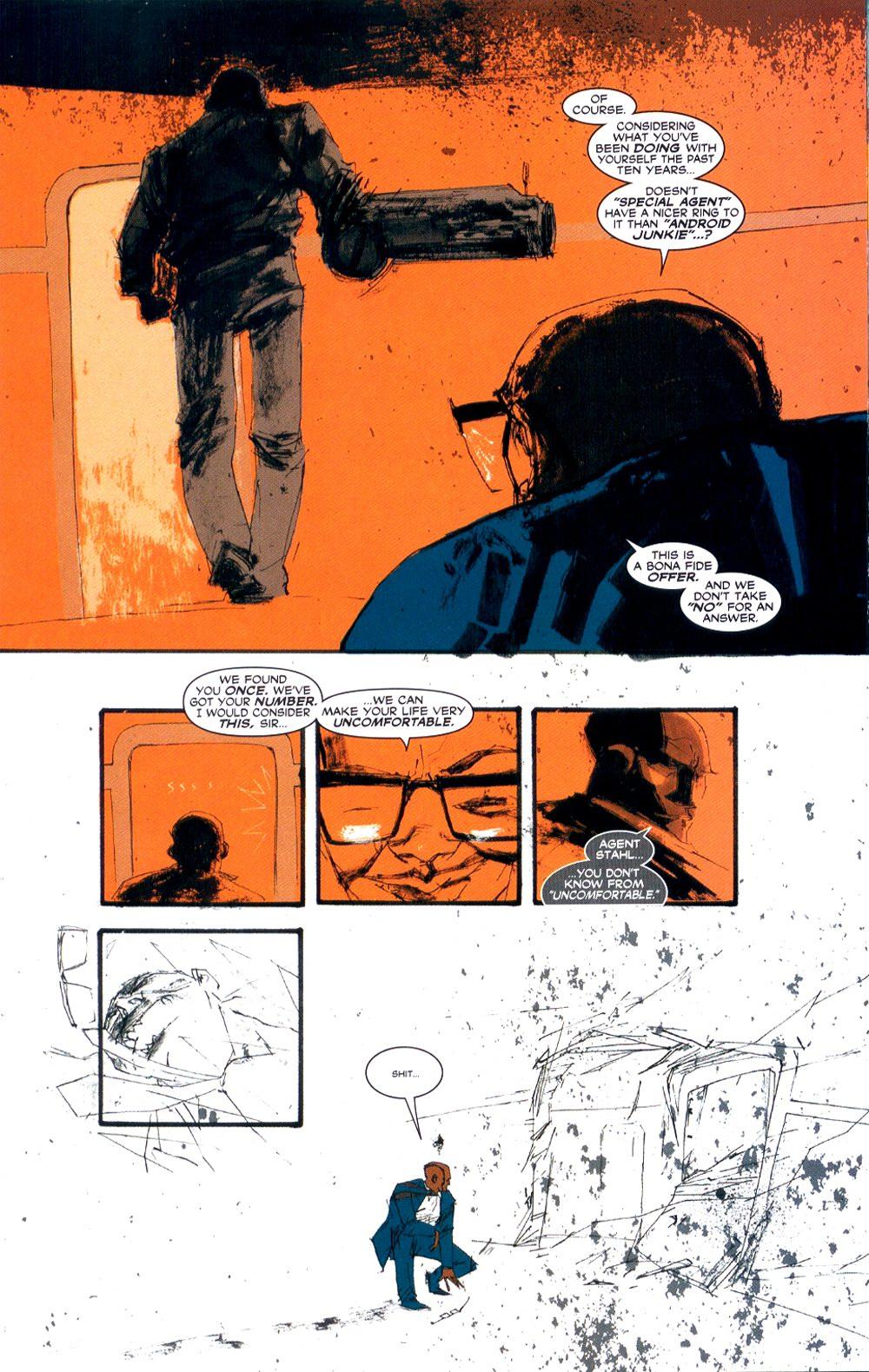 Read online Automatic Kafka comic -  Issue #3 - 12