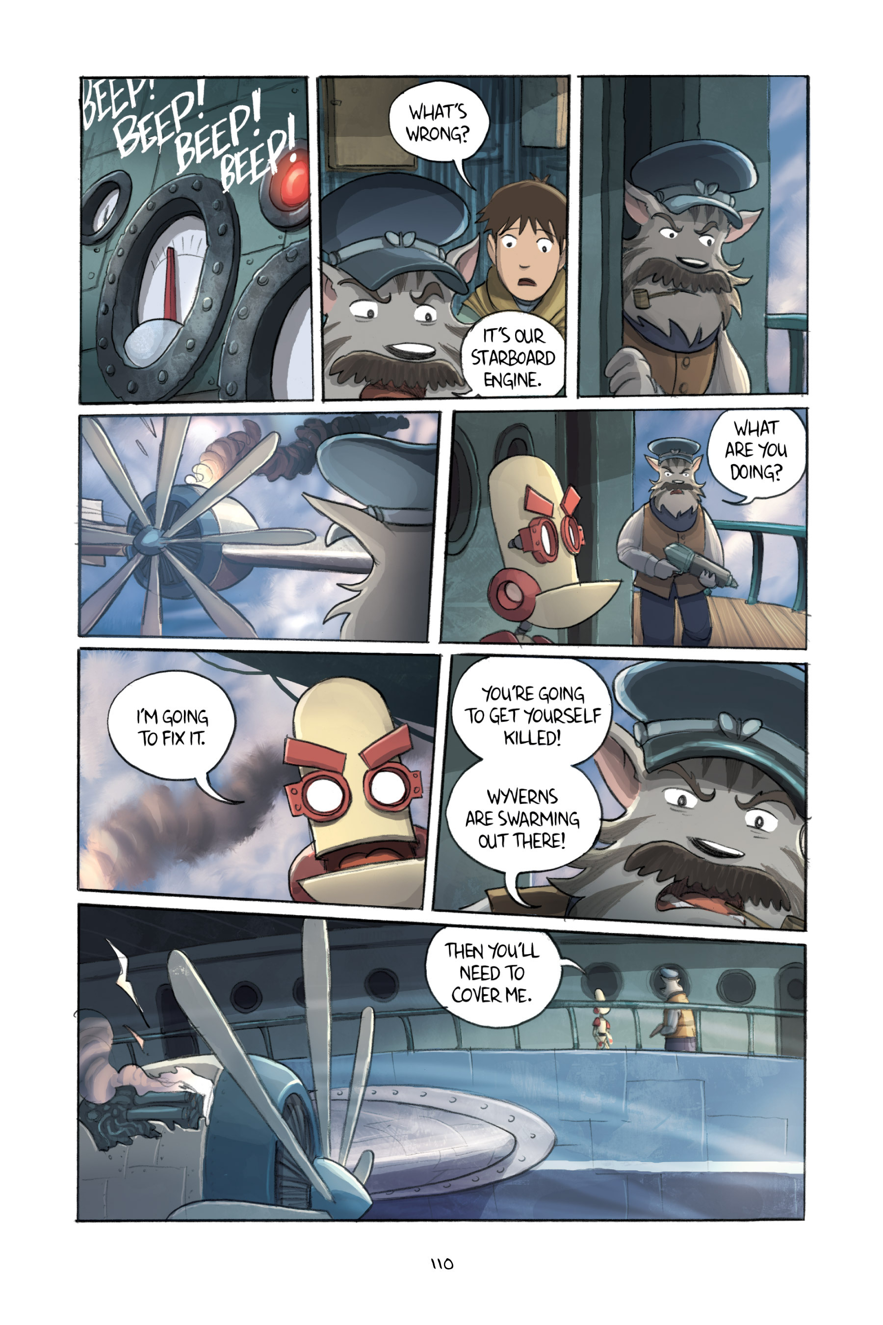 Read online Amulet comic -  Issue #3 - 108