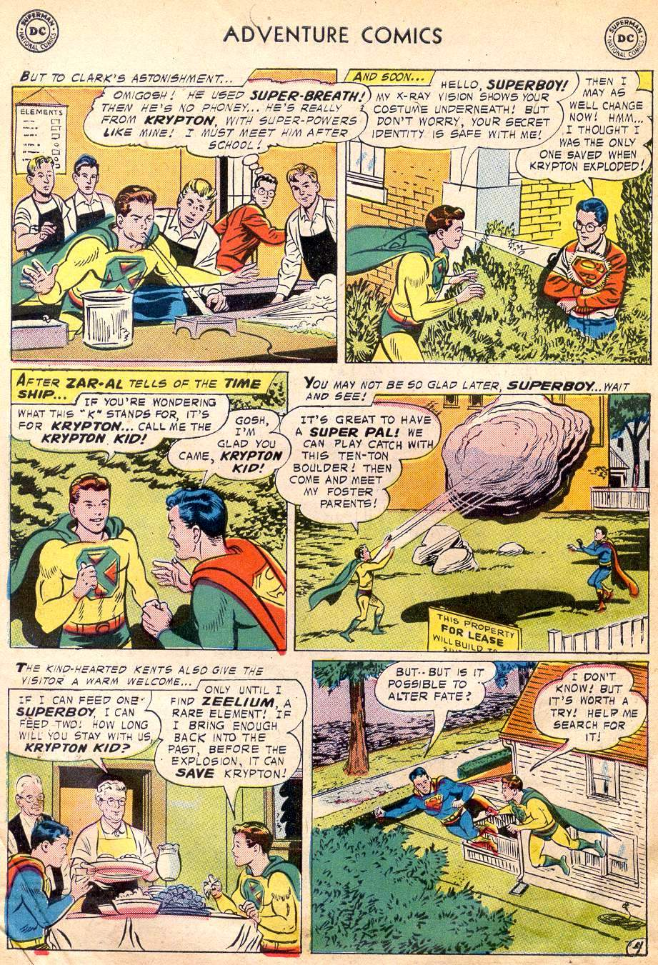 Read online Adventure Comics (1938) comic -  Issue #242 - 6