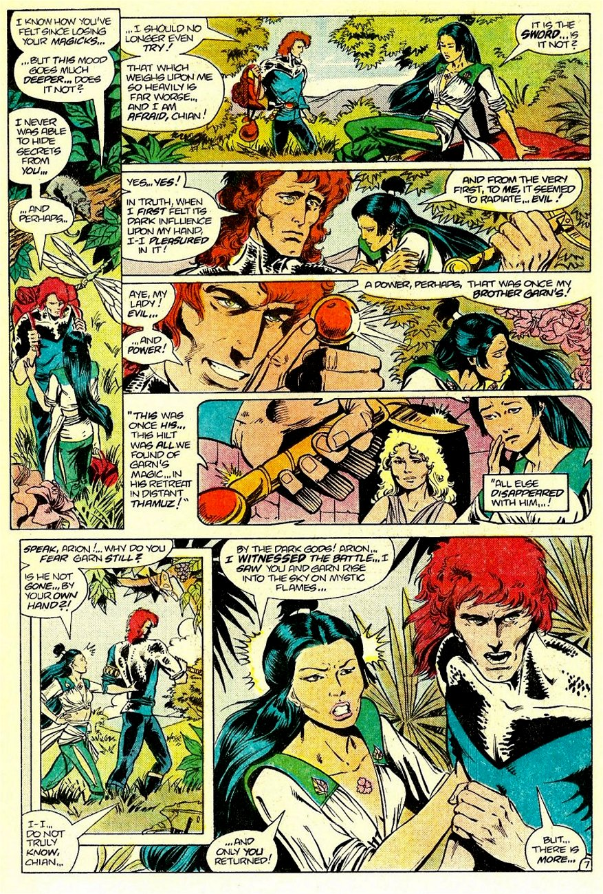 Read online Arion, Lord of Atlantis comic -  Issue #16 - 8