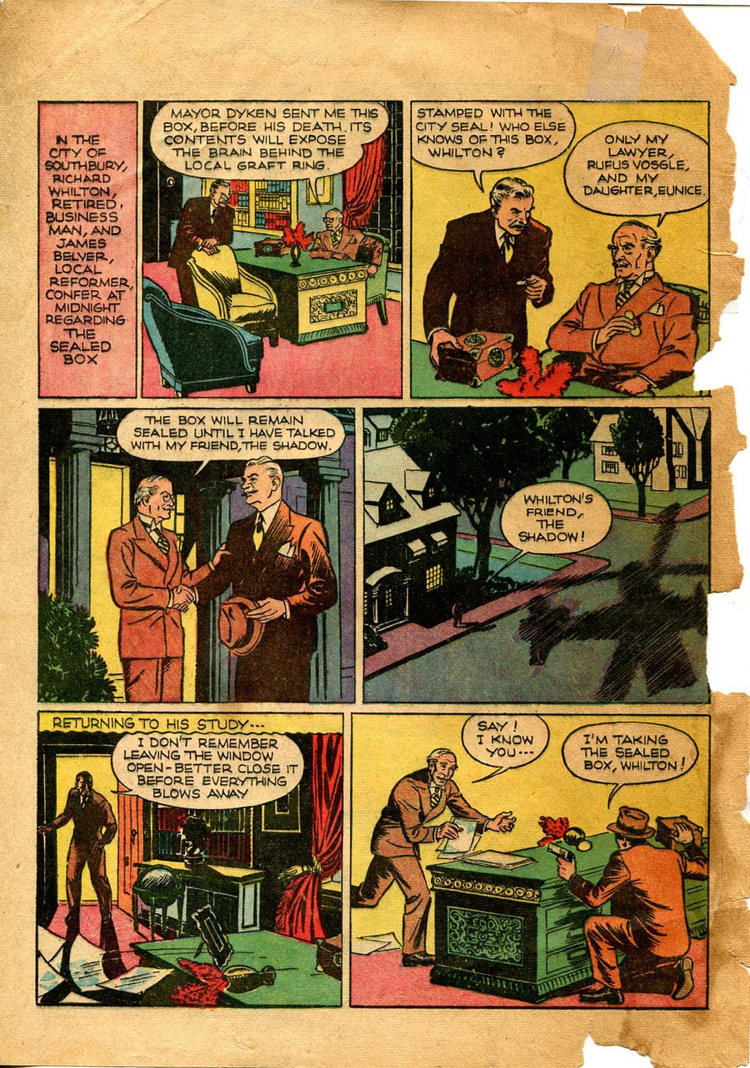 Read online Shadow Comics comic -  Issue #9 - 4