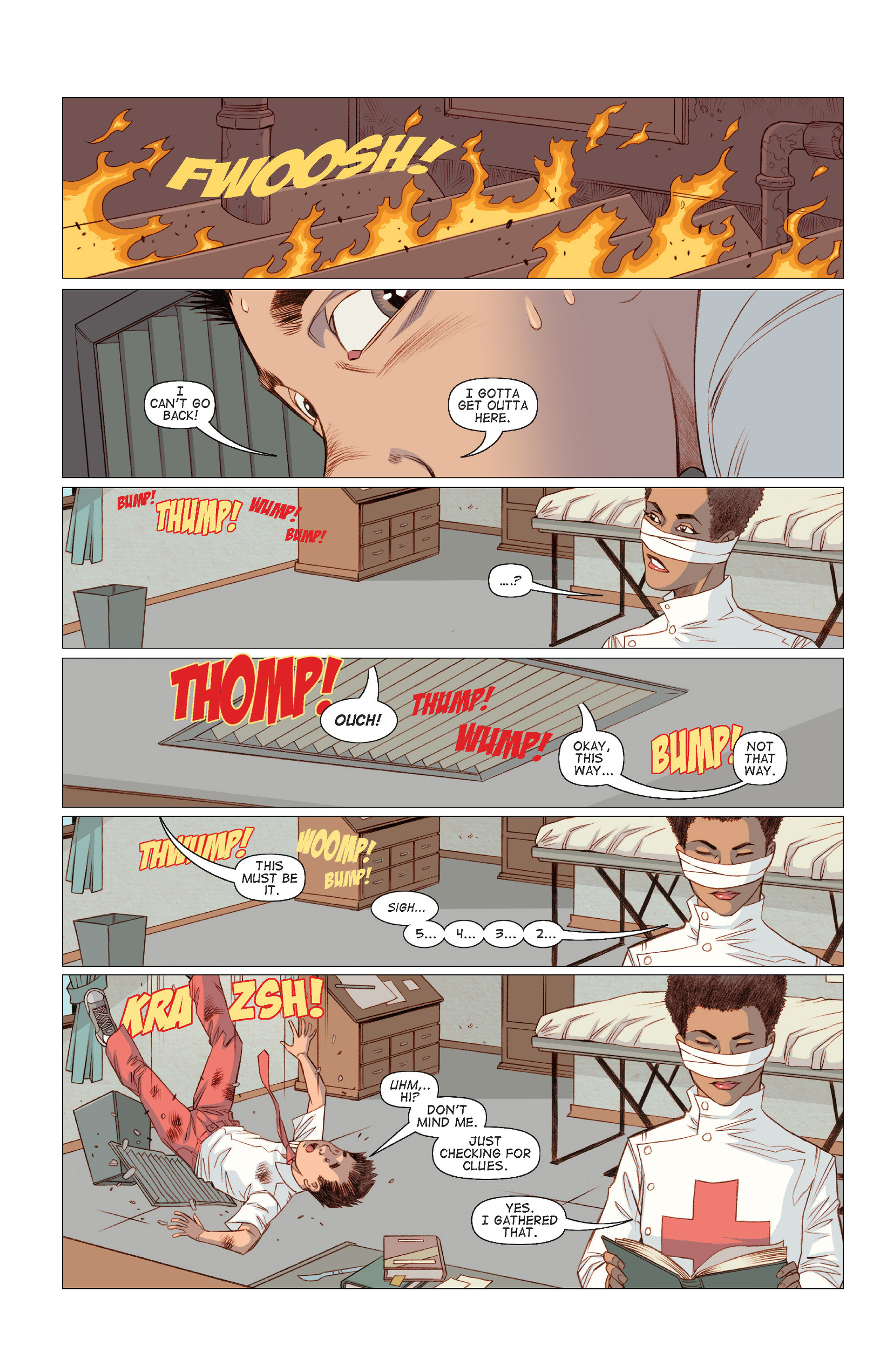 Read online Five Weapons comic -  Issue #8 - 17