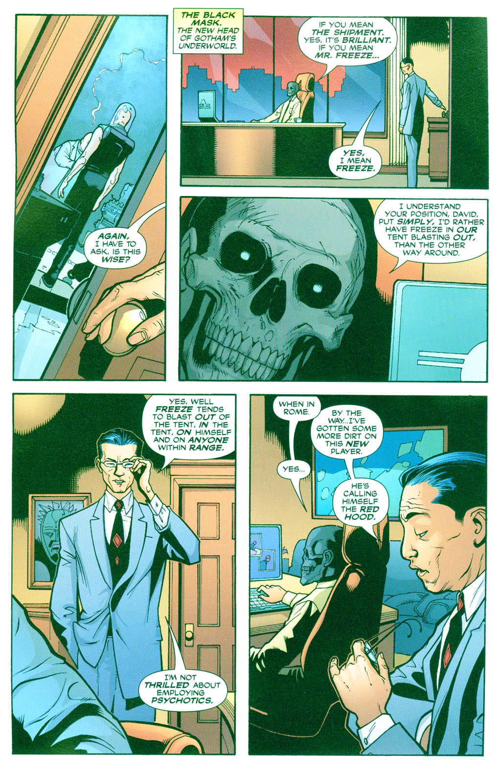 Batman: Under The Hood issue 2 - Page 8