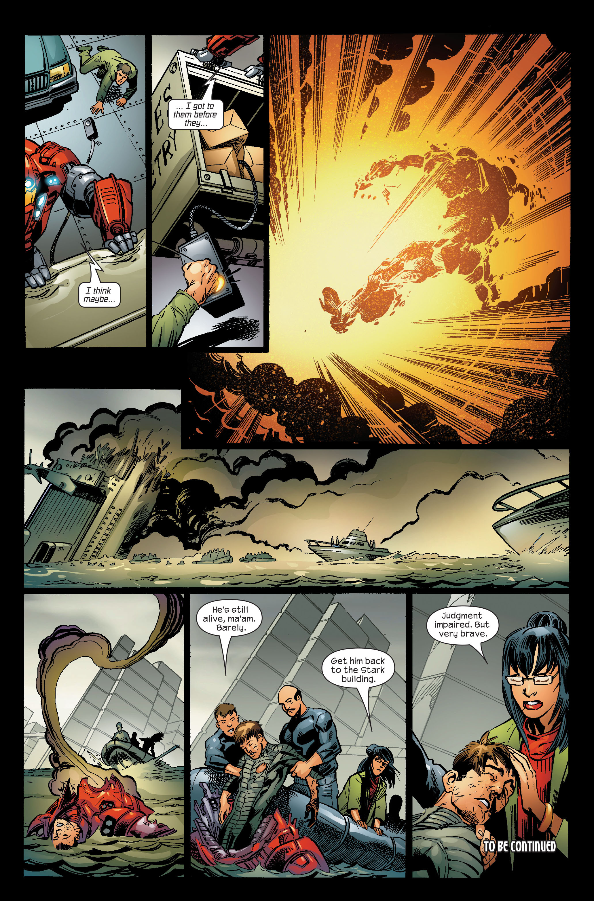 Read online Ultimate Iron Man (2005) comic -  Issue #5 - 22