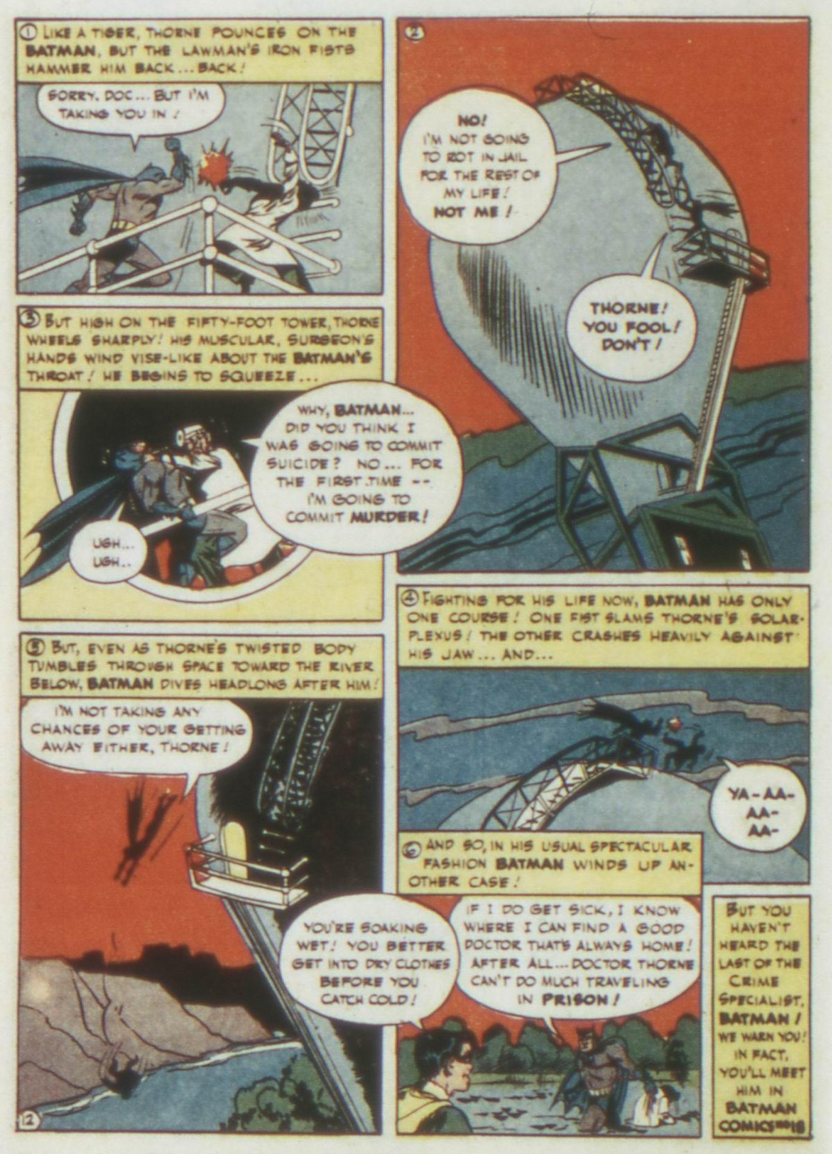 Read online Detective Comics (1937) comic -  Issue #77 - 14