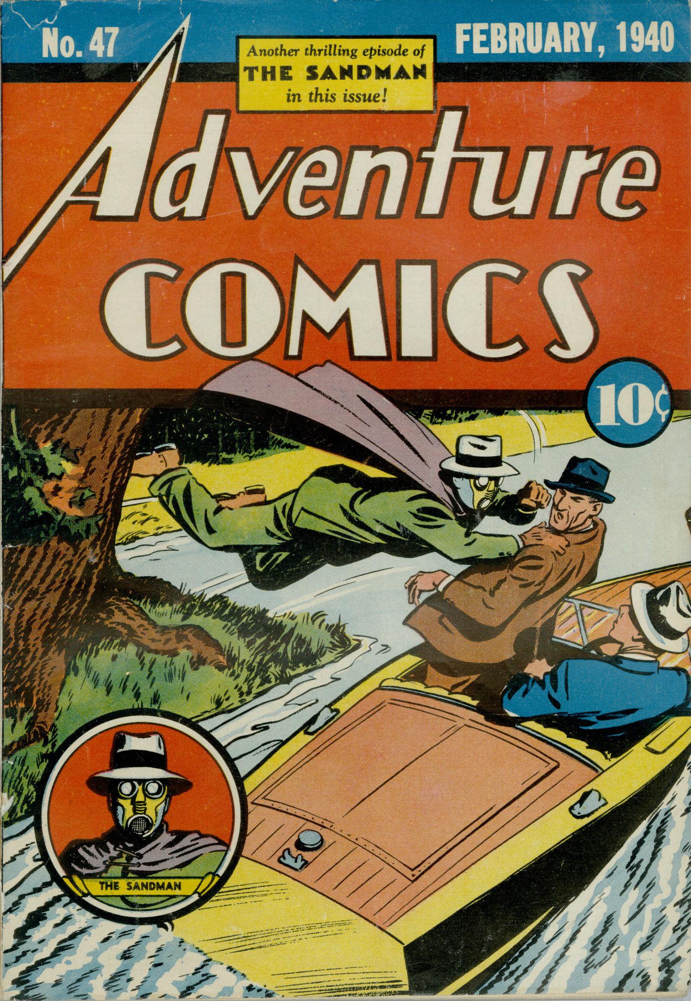 Read online Adventure Comics (1938) comic -  Issue #47 - 2
