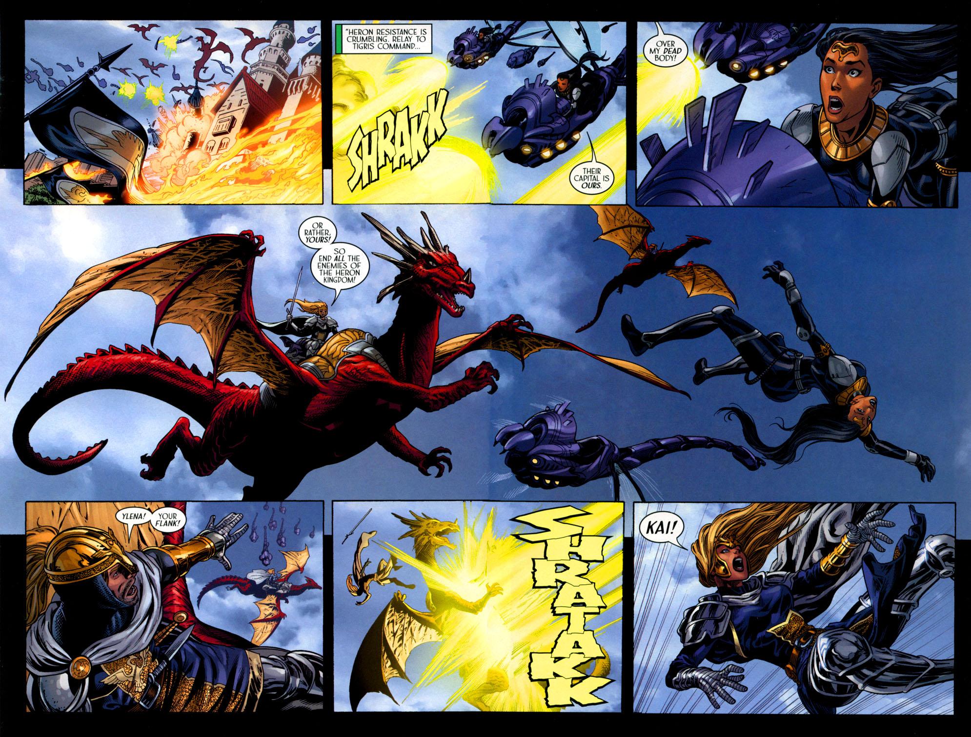 Read online Scion comic -  Issue #41 - 9