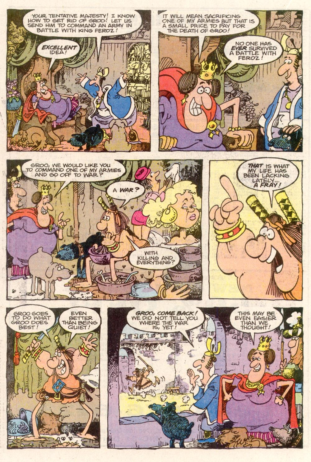 Read online Sergio Aragonés Groo the Wanderer comic -  Issue #81 - 16