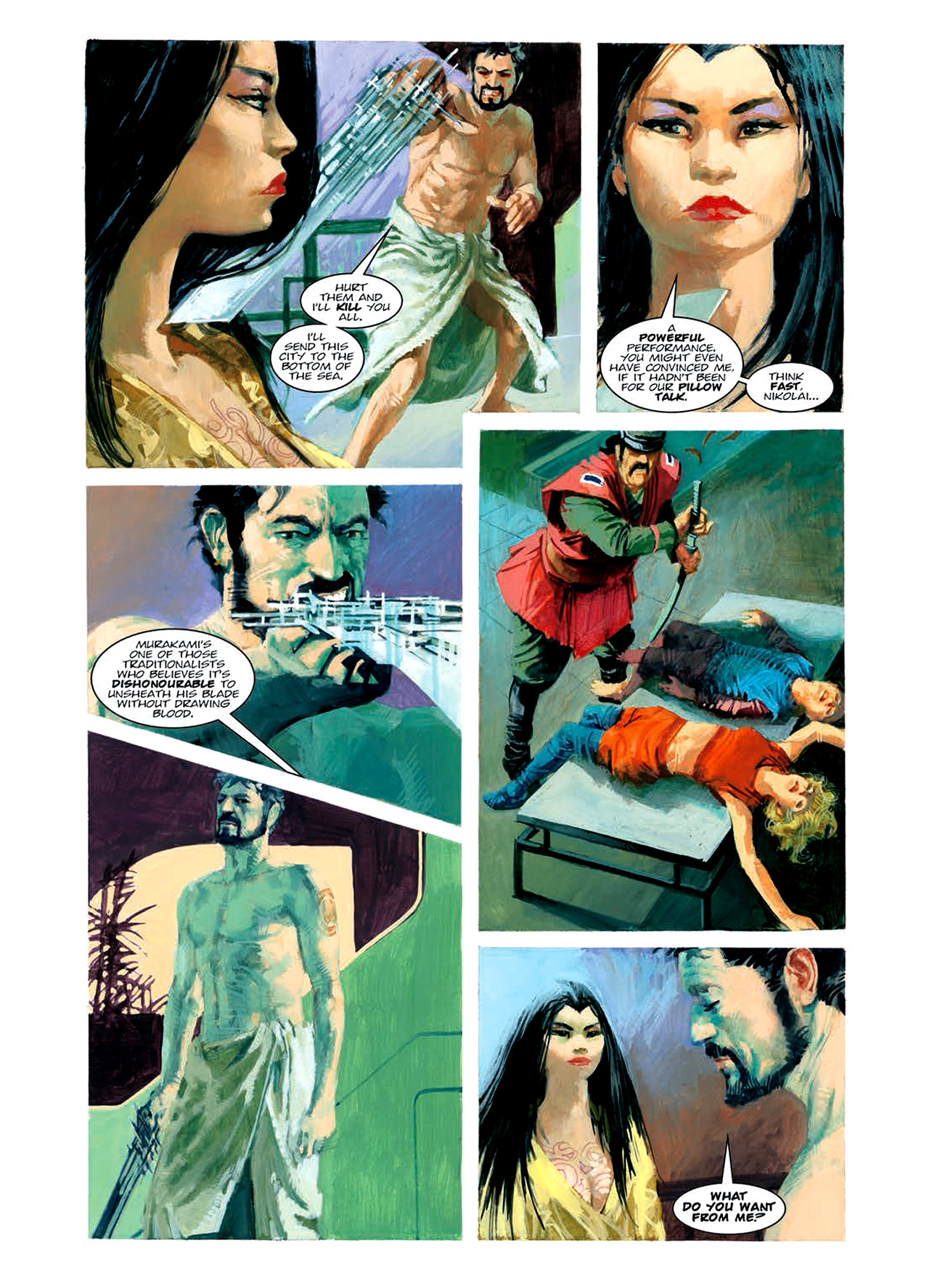 Read online Nikolai Dante comic -  Issue # TPB 6 - 114