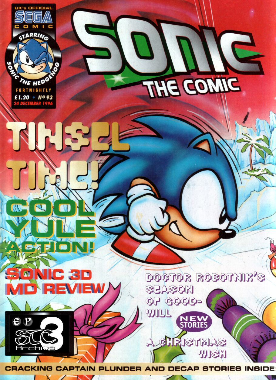 Read online Sonic the Comic comic -  Issue #93 - 1