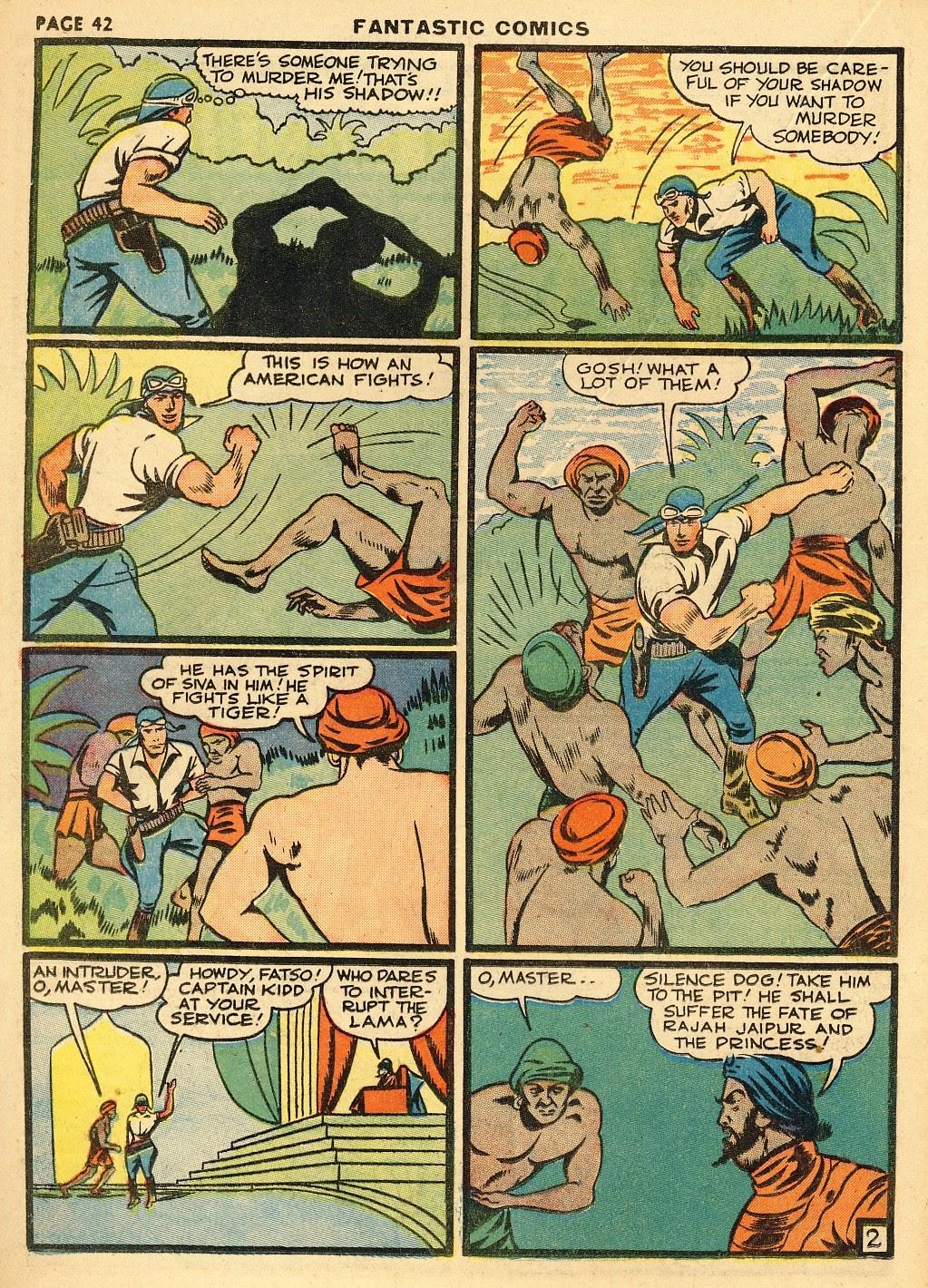 Read online Fantastic Comics comic -  Issue #10 - 43