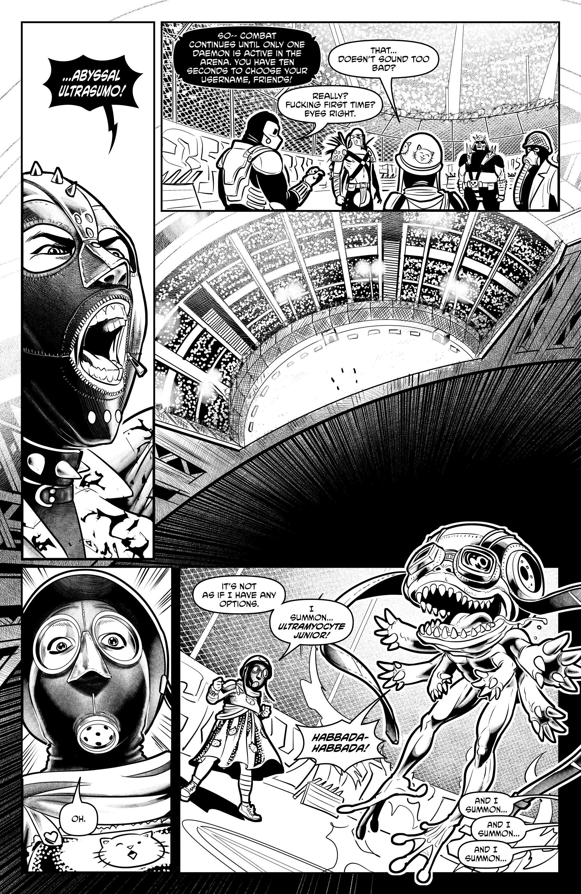 Read online Alan Moore's Cinema Purgatorio comic -  Issue #6 - 26