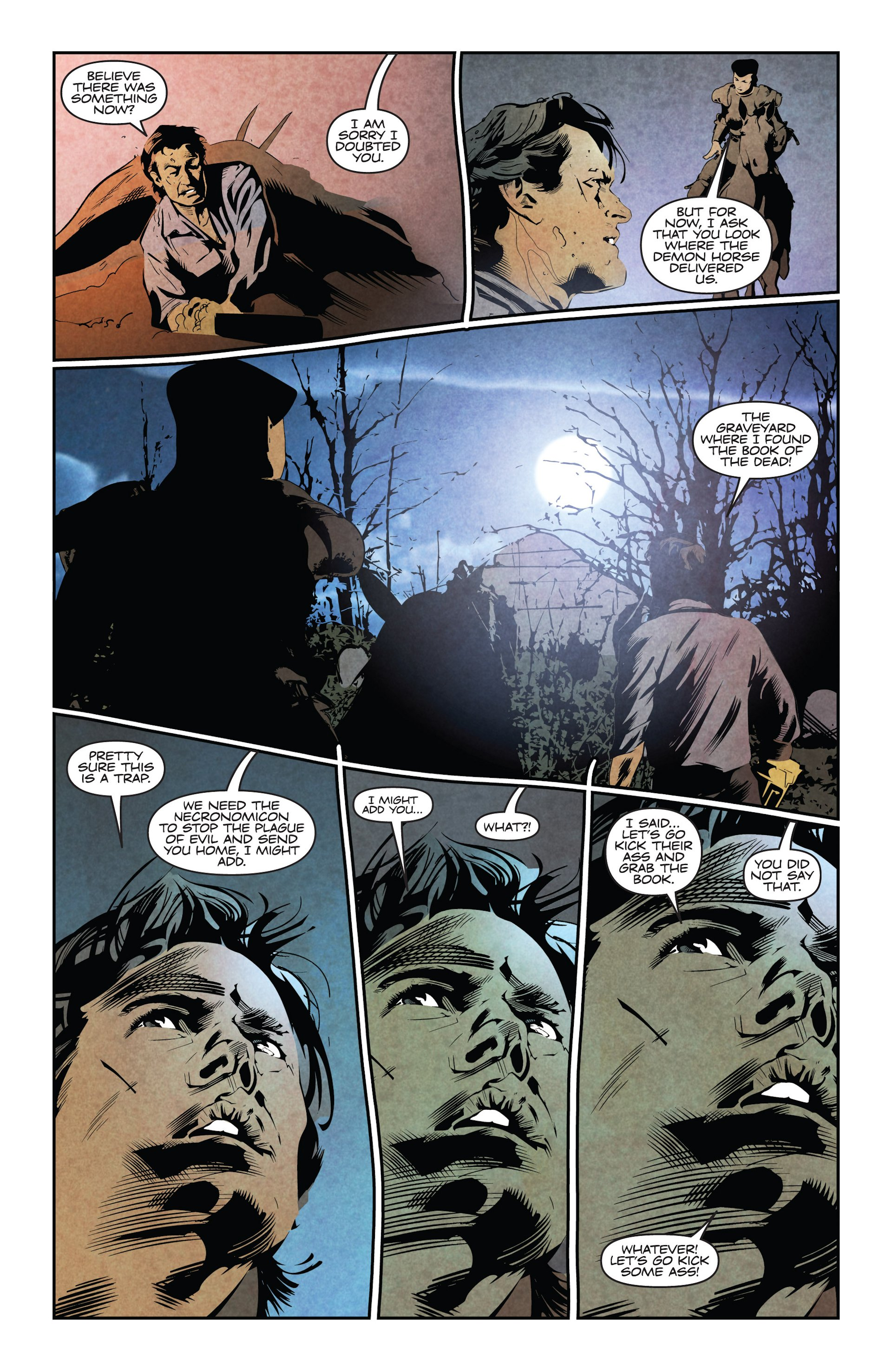 Read online Ash and the Army of Darkness comic -  Issue #4 - 12